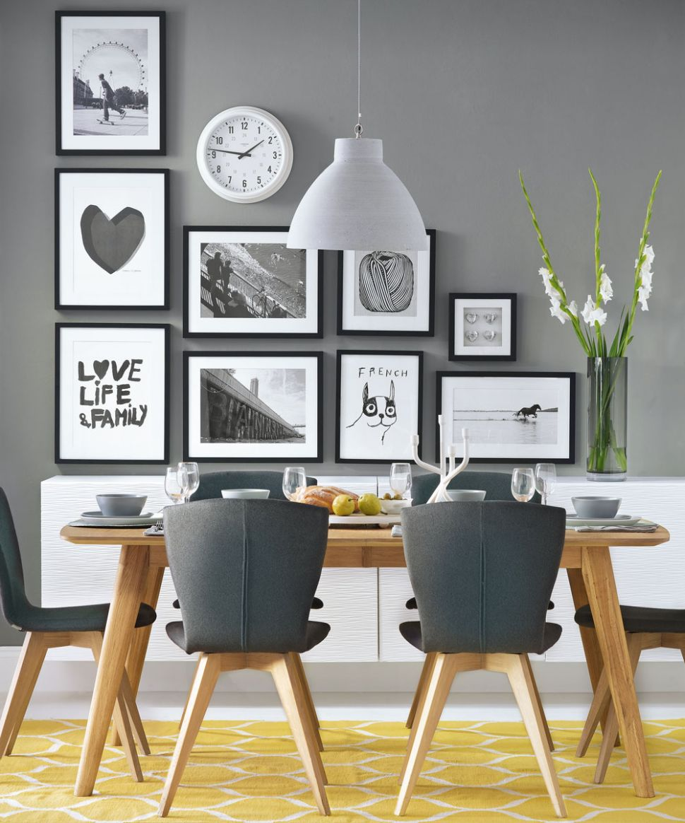 Grey dining room ideas – Grey dining room chairs – Grey dining room