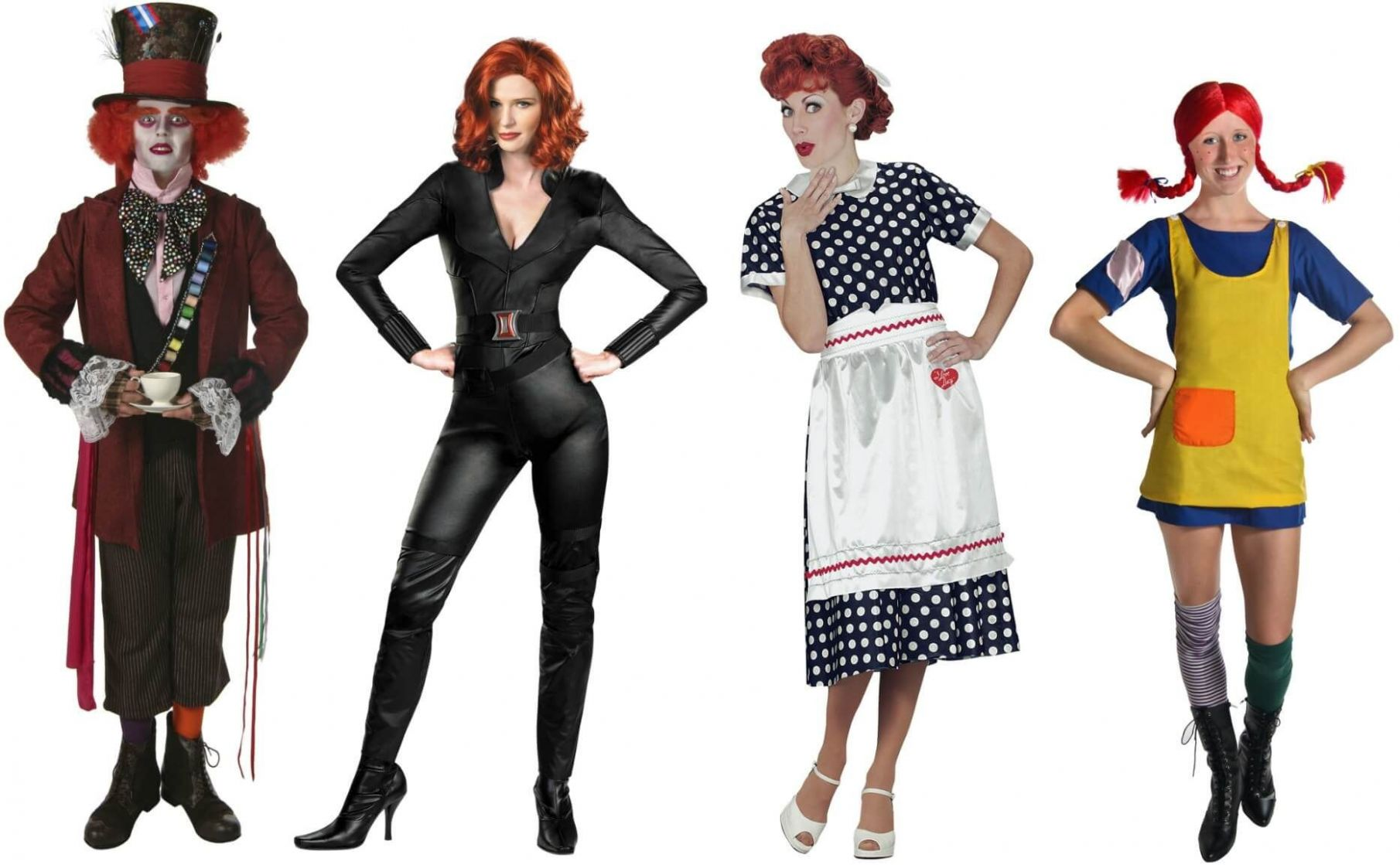Halloween Costumes for Redheads | Red hair halloween costumes, Red ..