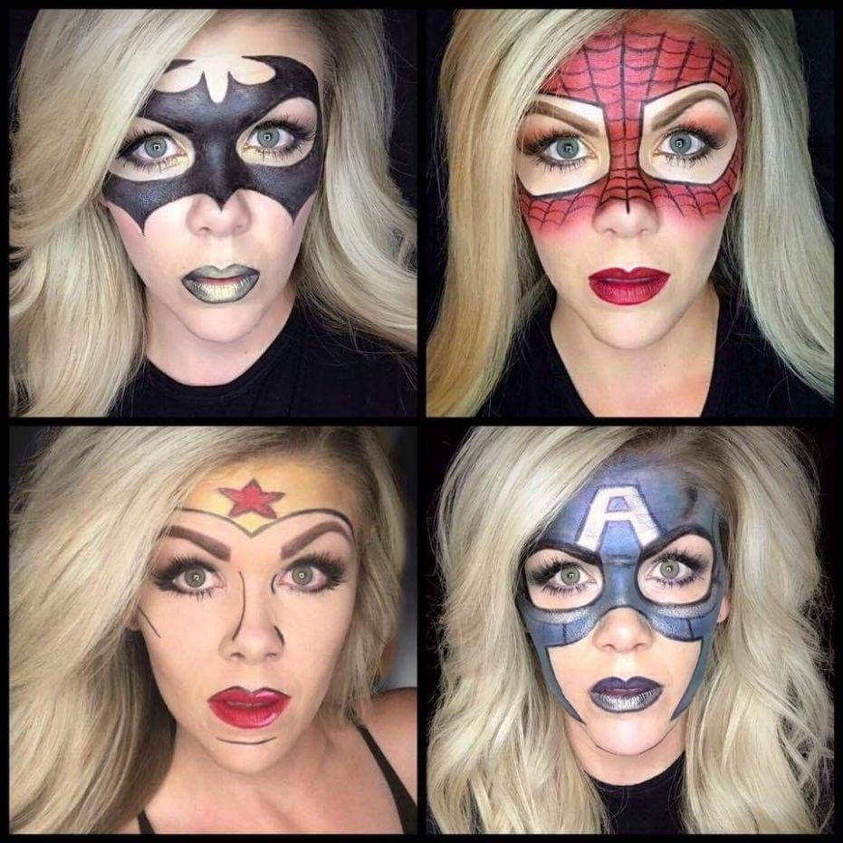 Halloween ideas using Limelight by Alcone makeup. #makeup ..
