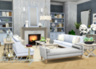 Hamptons Hideaway - Living Room Set for TS9 | Living room sims 9 ...