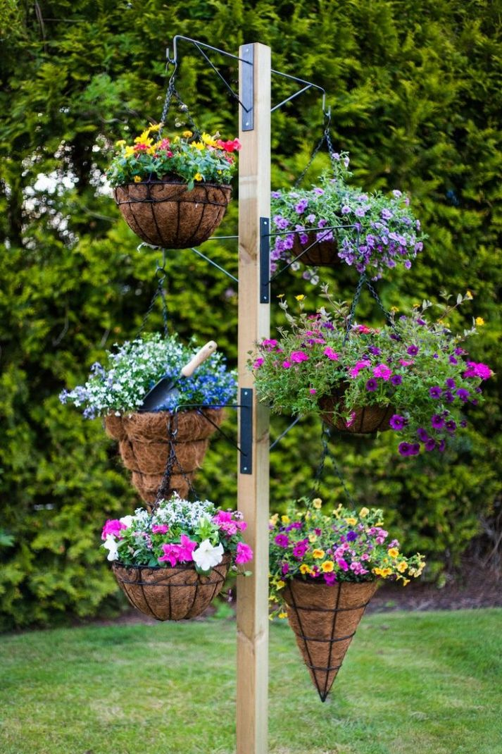 Hanging Baskets Gardening | Beautiful yard and garden ideas ...