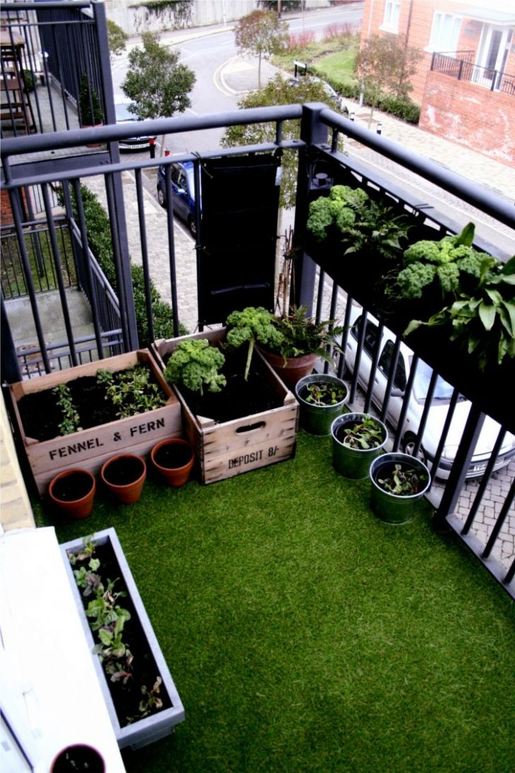 Hardscaping 8: Artificial Grass | Small balcony design, Small ..