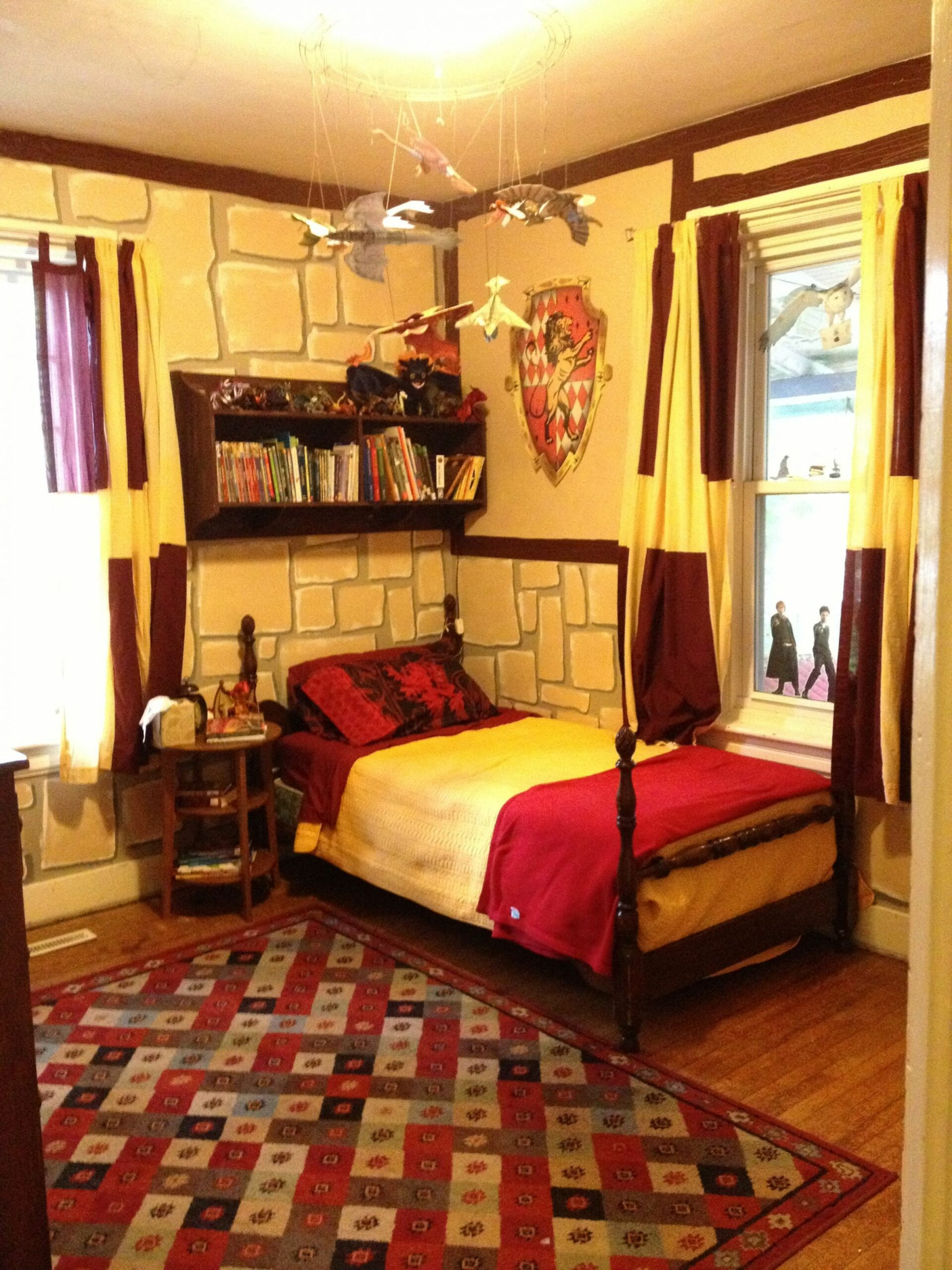 harry potter bedroom decor (With images) | Harry potter bedroom ..