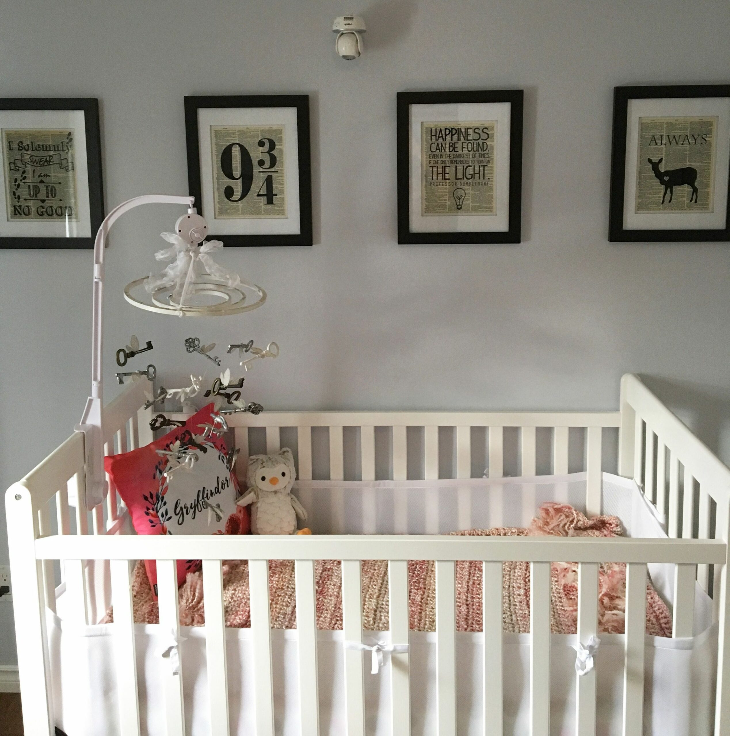 Harry Potter themed nursery for my baby girl! (With images ..