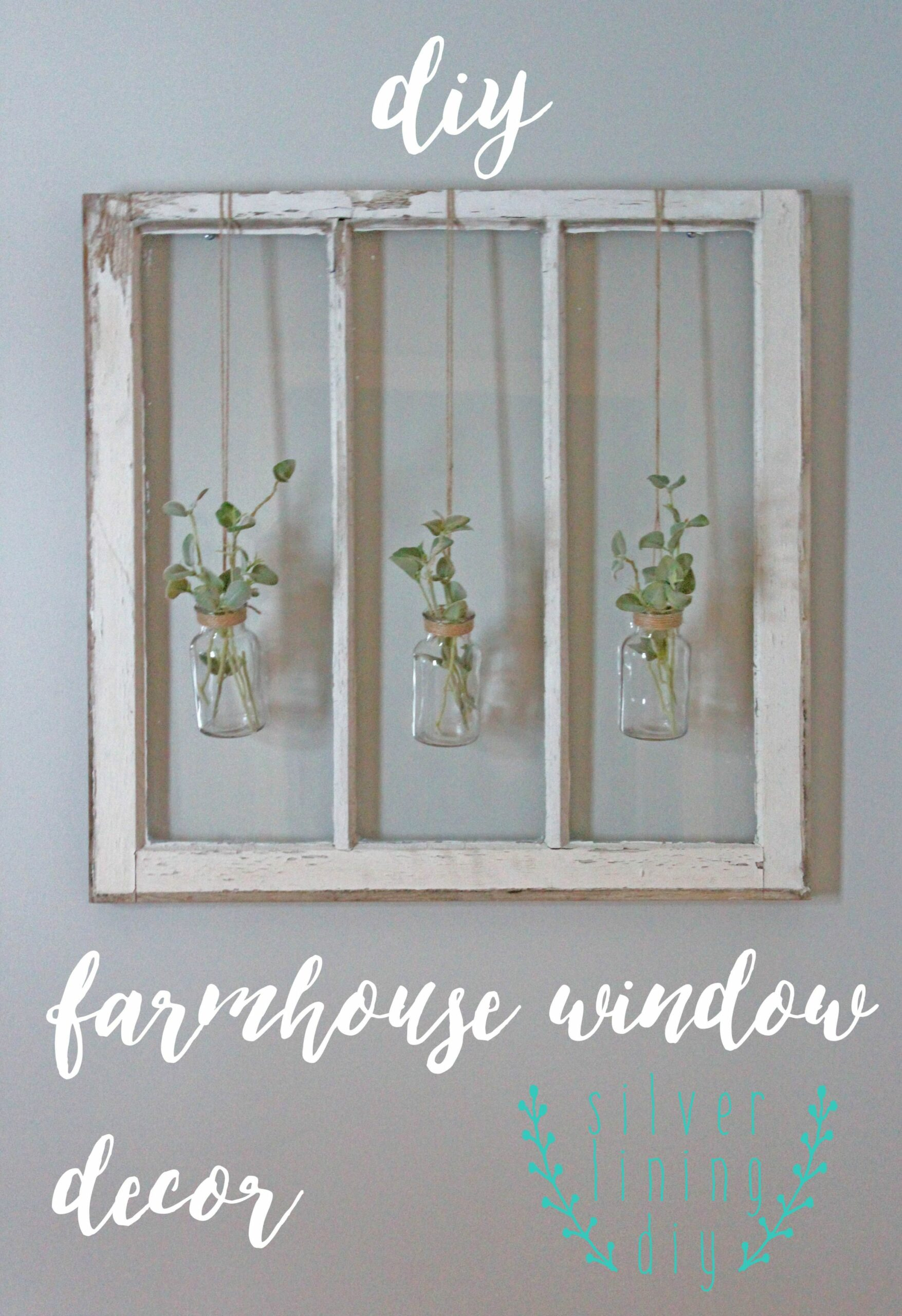 Have a ton of old barn windows hanging around your house? Follow ..
