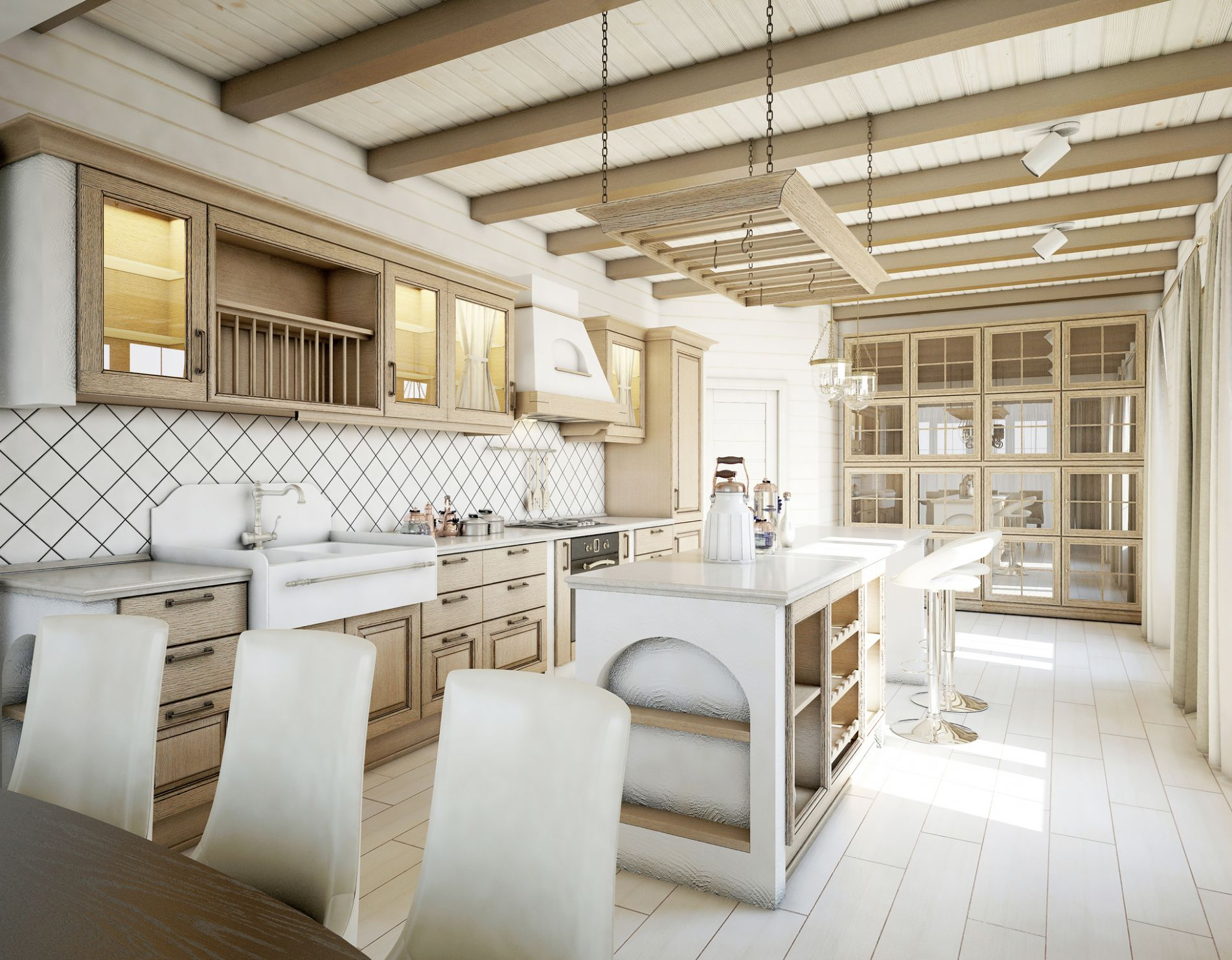 Here Are 8 Modern Farmhouse Kitchen Ideas to Inspire You