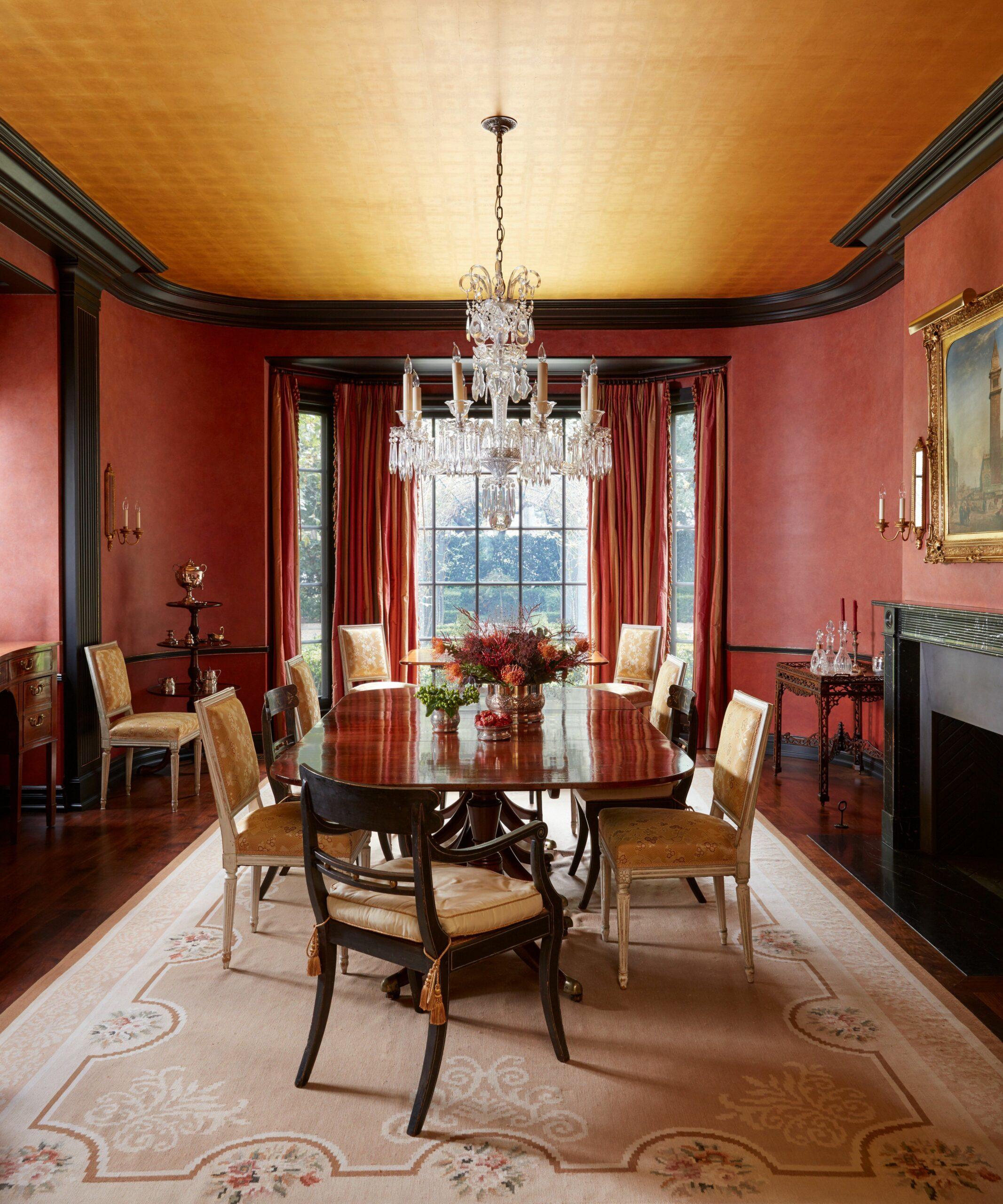 Here's Why You Should Go Bold With Red Paint | Dining room colors ...