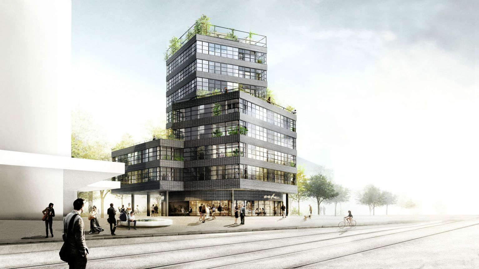 HHF Architects & Westpol Win Competition to Design Apartment Tower ..