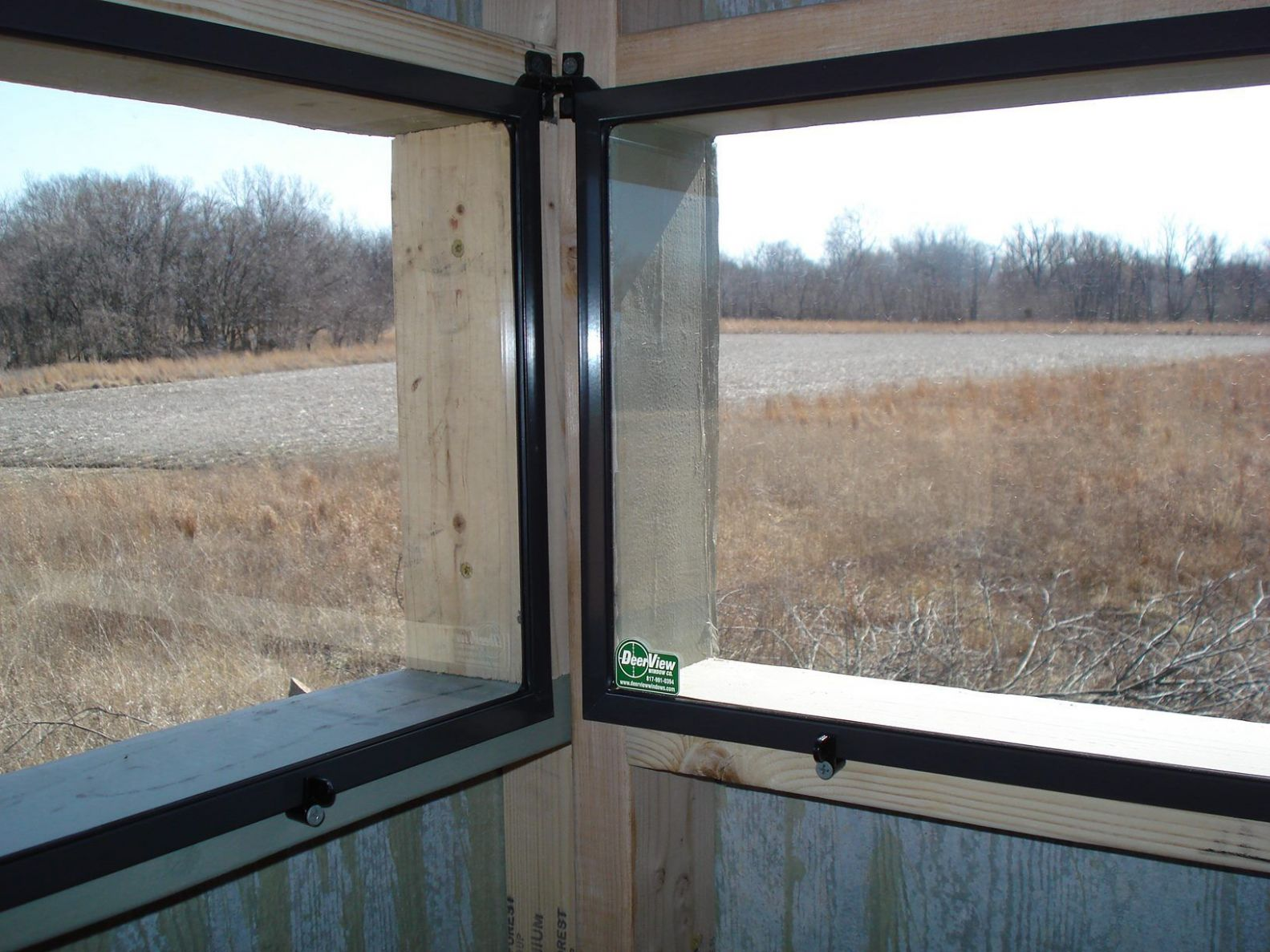 Hinge Window (With images) | Deer hunting blinds, Deer stand ...