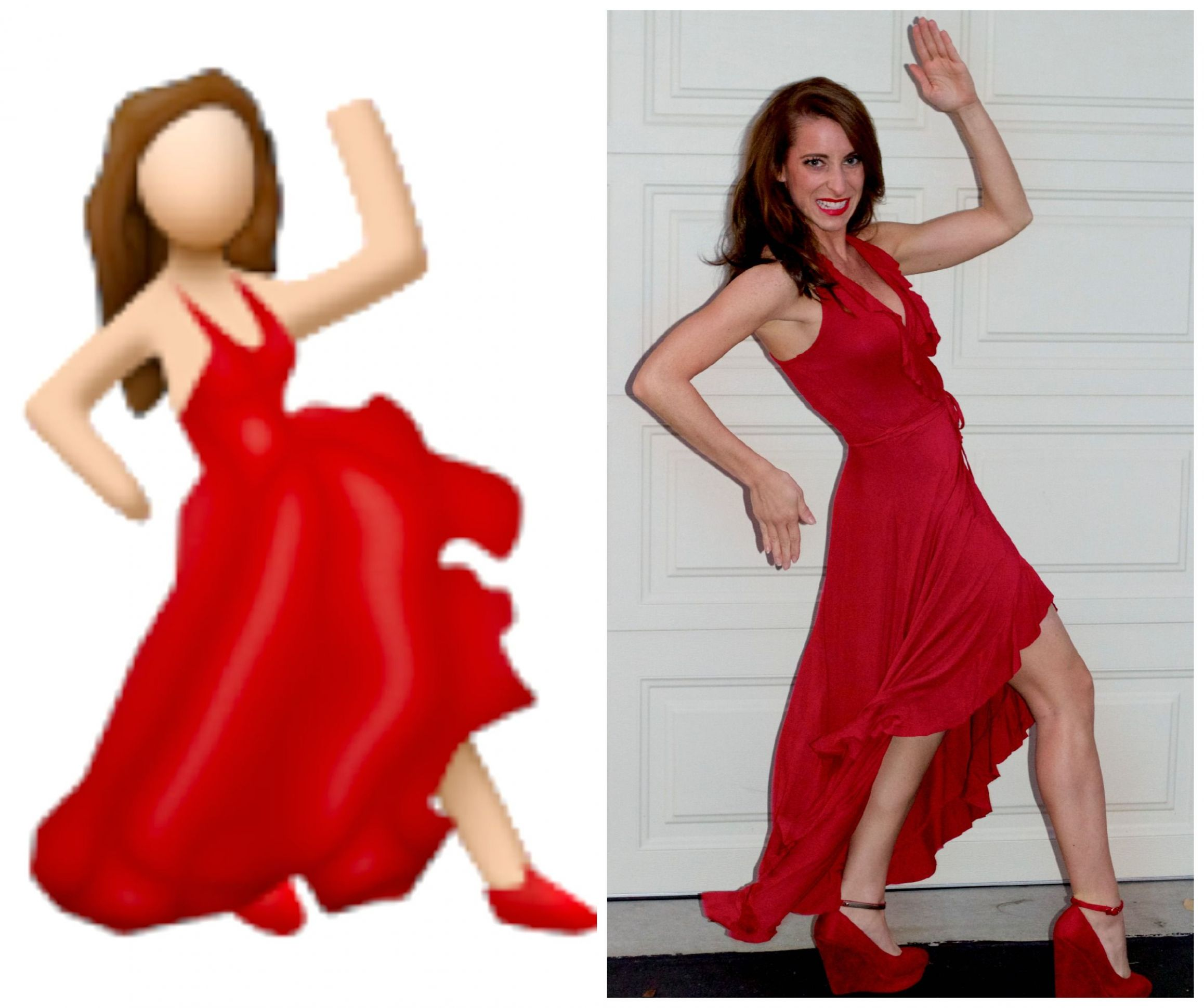 HOLLA-ween! (With images) | Red dress costume, Fancy dress ...