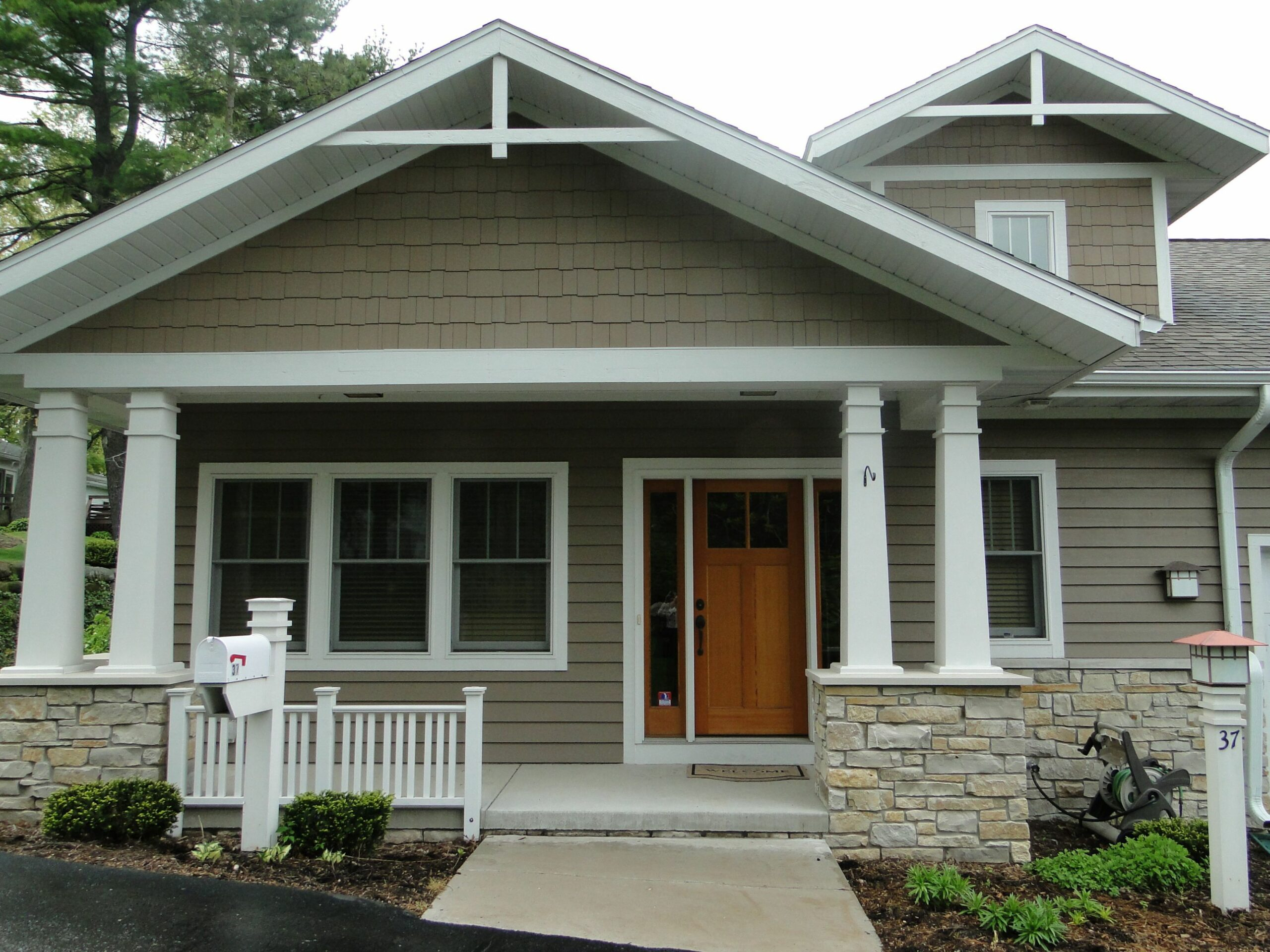 Home Architecture Front Porch Designs For Ranch Style Homes House ...
