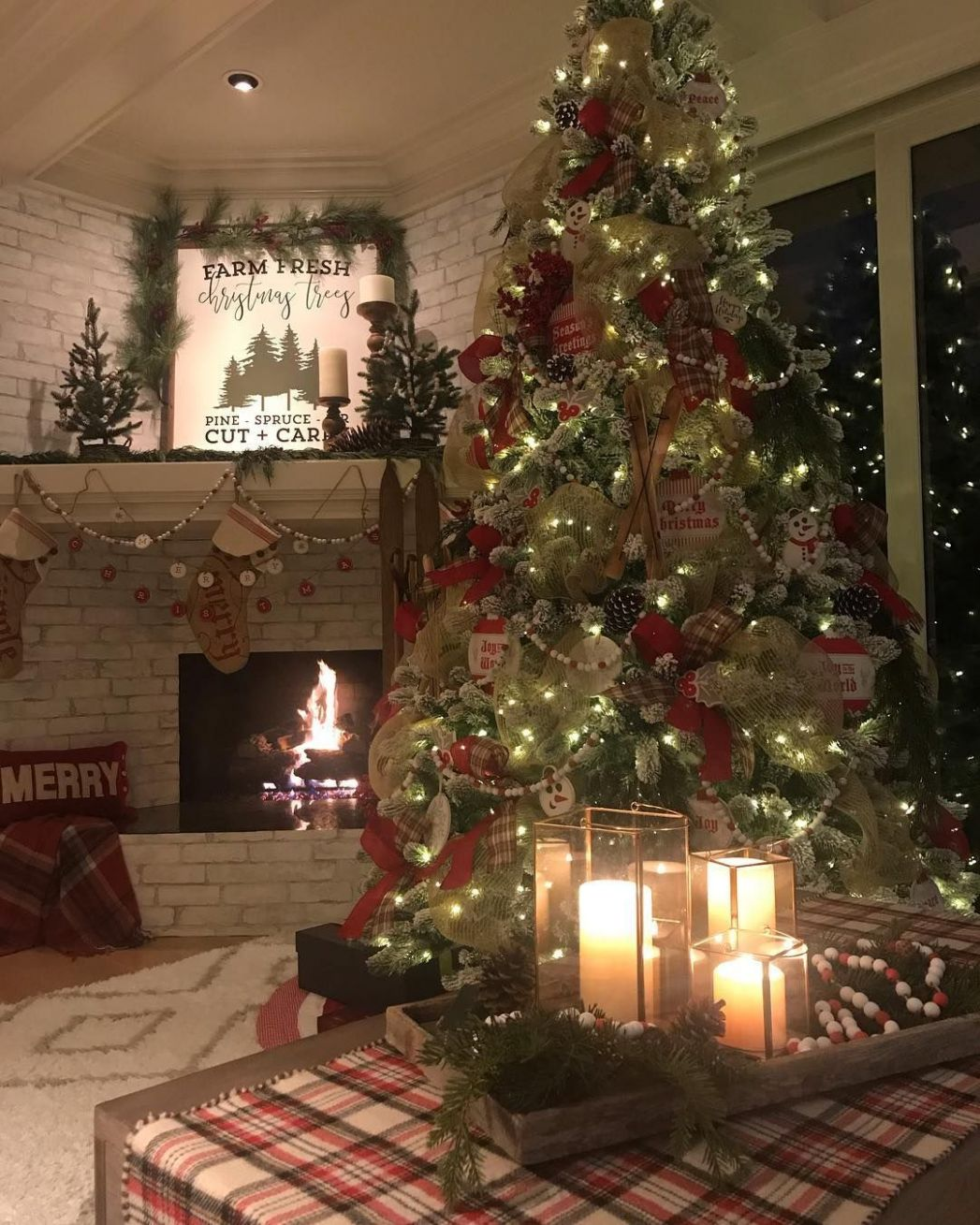 """Home Decor Twins Julie & Jodie on Instagram: """"🎄The heart of our .."""