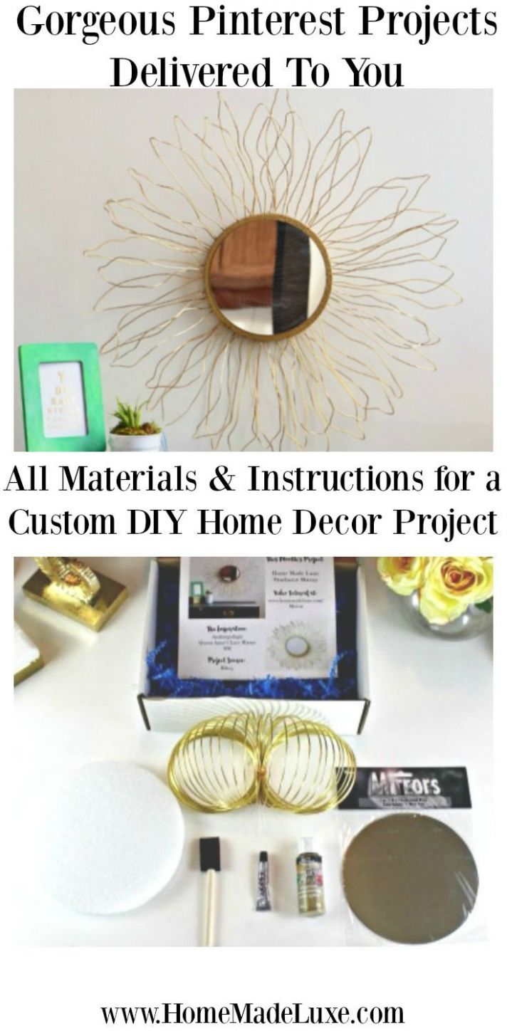 Home Made Luxe is DIY Subscription Box! Every month a new custom ...