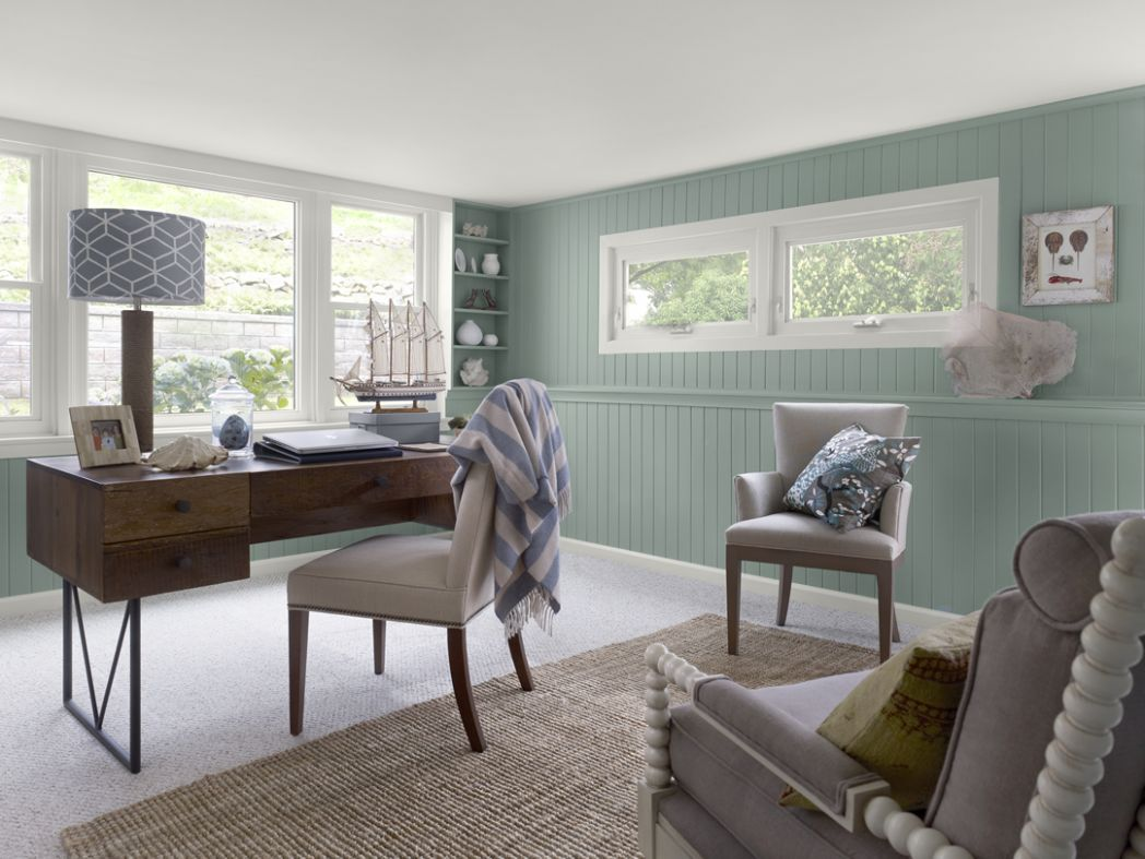 Home Office Colors Ideas Video Color Trends Interior Small Work ...