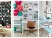 Home Office Decorating Ideas On A Budget For Women Decoration Diy ...