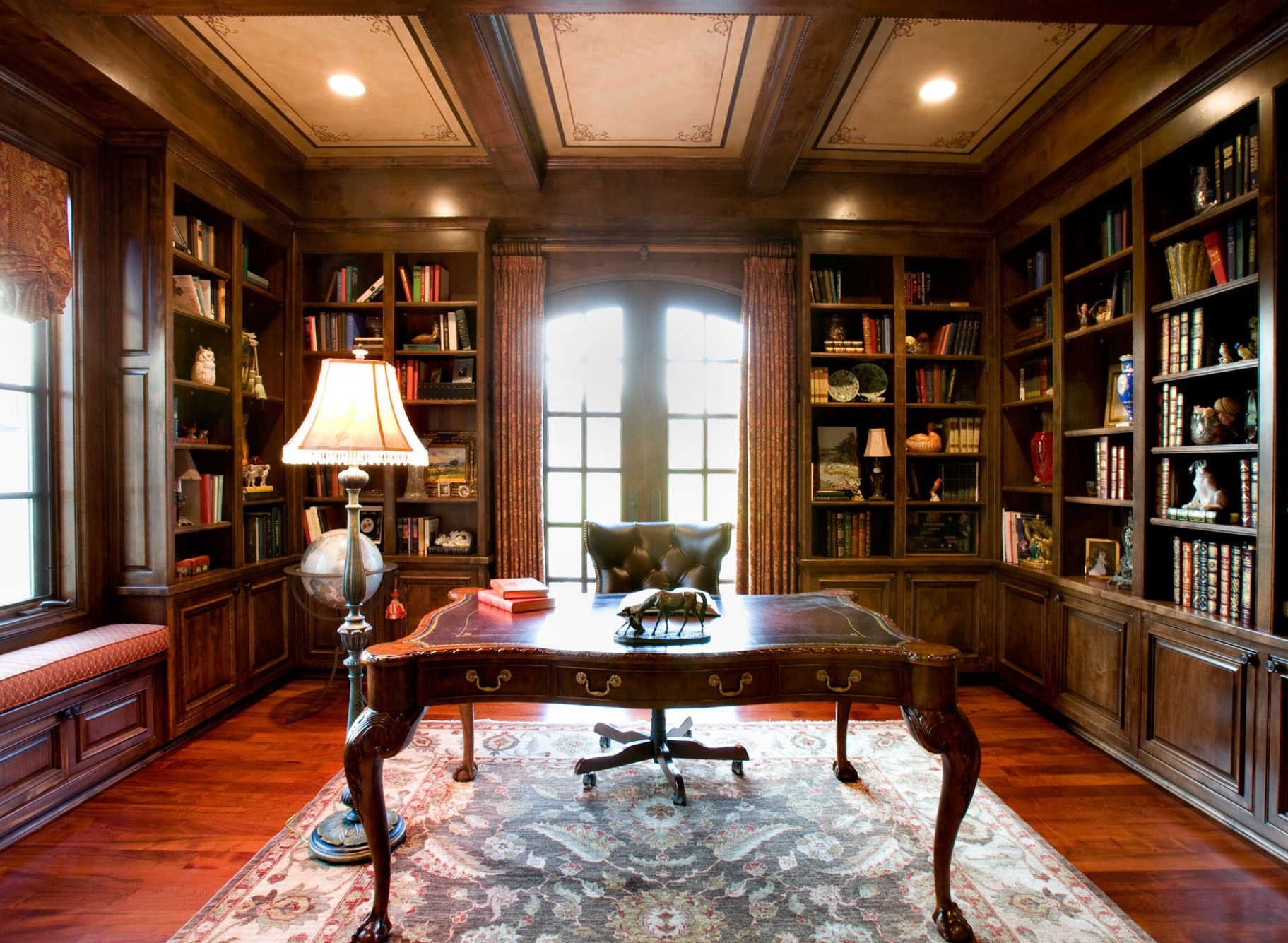 Home Office Decorating Ideas Work From Space For Small Spaces ..