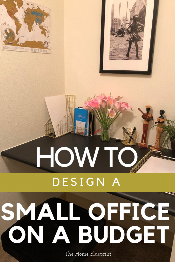 Home Office Design On A Budget (With images)   Small office design ..