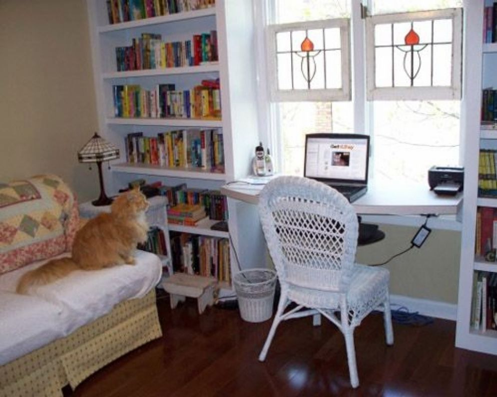 Home Office Library Design Ideas Best Small Libraries Custom ..