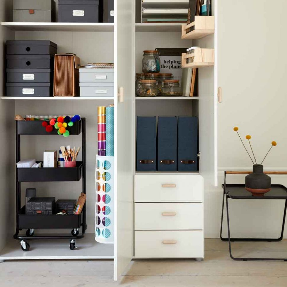 Home office storage ideas to help you keep on top of your work ...
