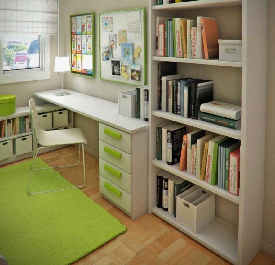 Home Small Office Ideas With Regard To Small Bedroom Office Combo ..