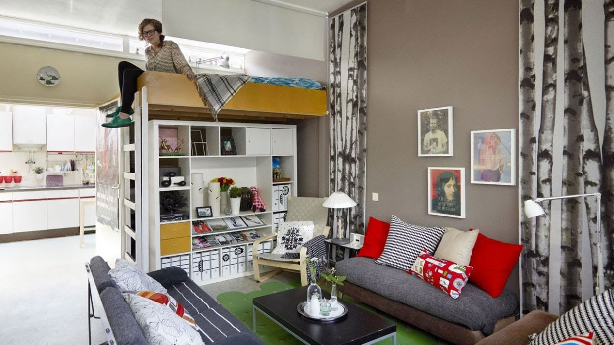 Home tour: Anne's small apartment in the Netherlands