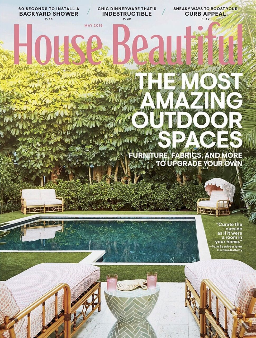HOUSE BEAUTIFUL talks Inspiration with designer Lisa Tharp - house beautiful inspiration