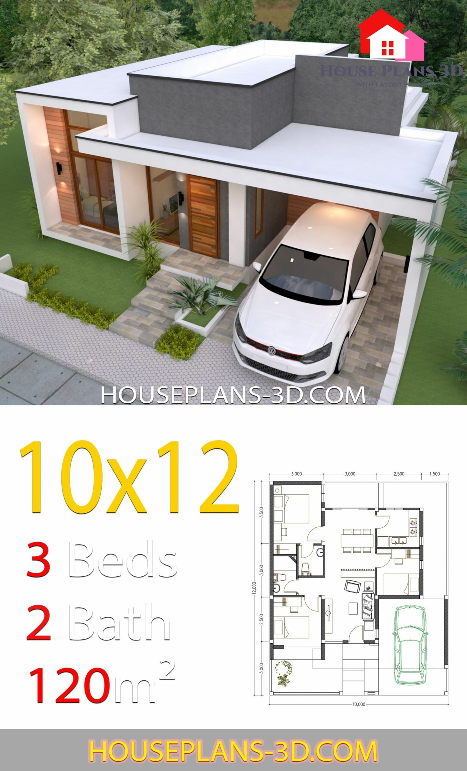 House design 11x11 with 11 Bedrooms Terrace Roof in 11 (With ...