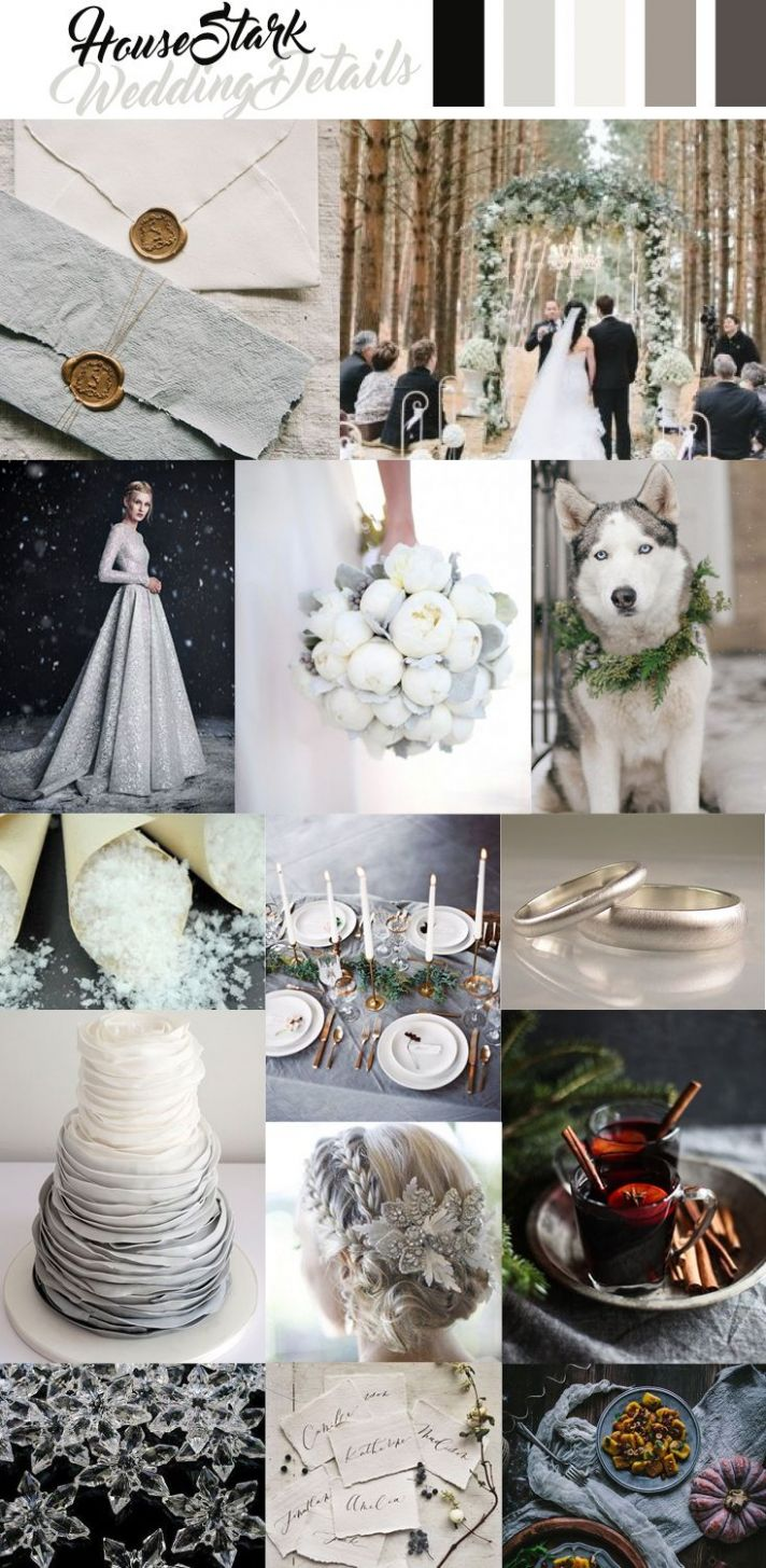 House Stark Wedding Inspiration, Game of Thrones (With images ...