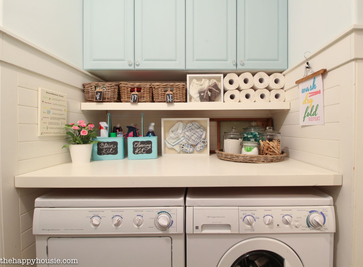 How to Completely Organize Your Laundry Room in Three Easy Steps ...