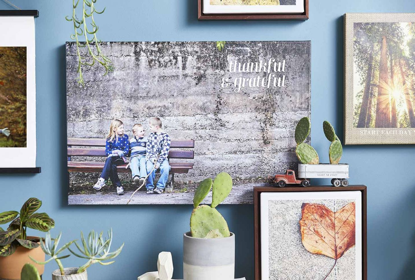 How To Create The Best Prints On Canvas | Shutterfly - wall decor ideas canvas