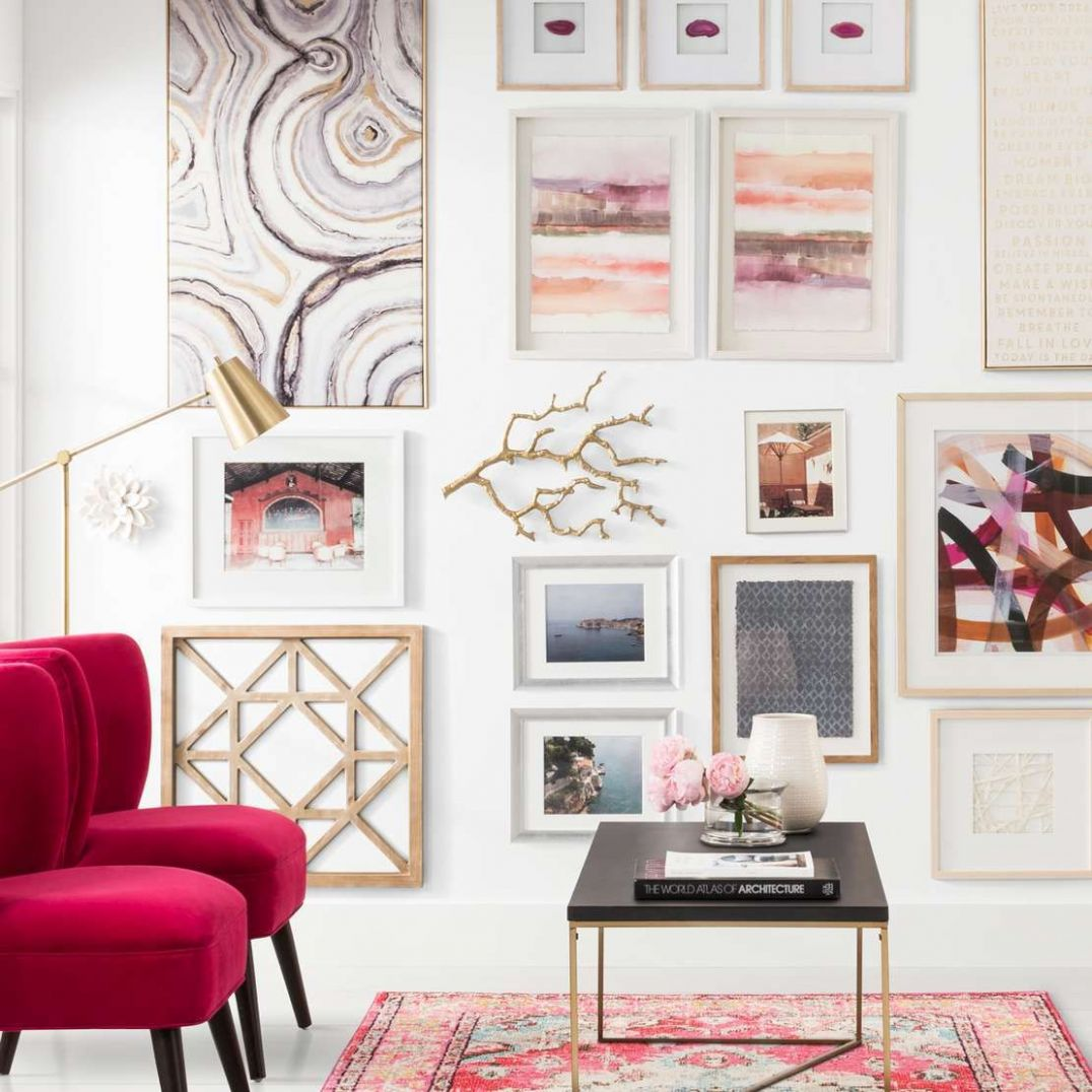 How to Create The Perfect Gallery Wall At Home - Homebop | Target ..