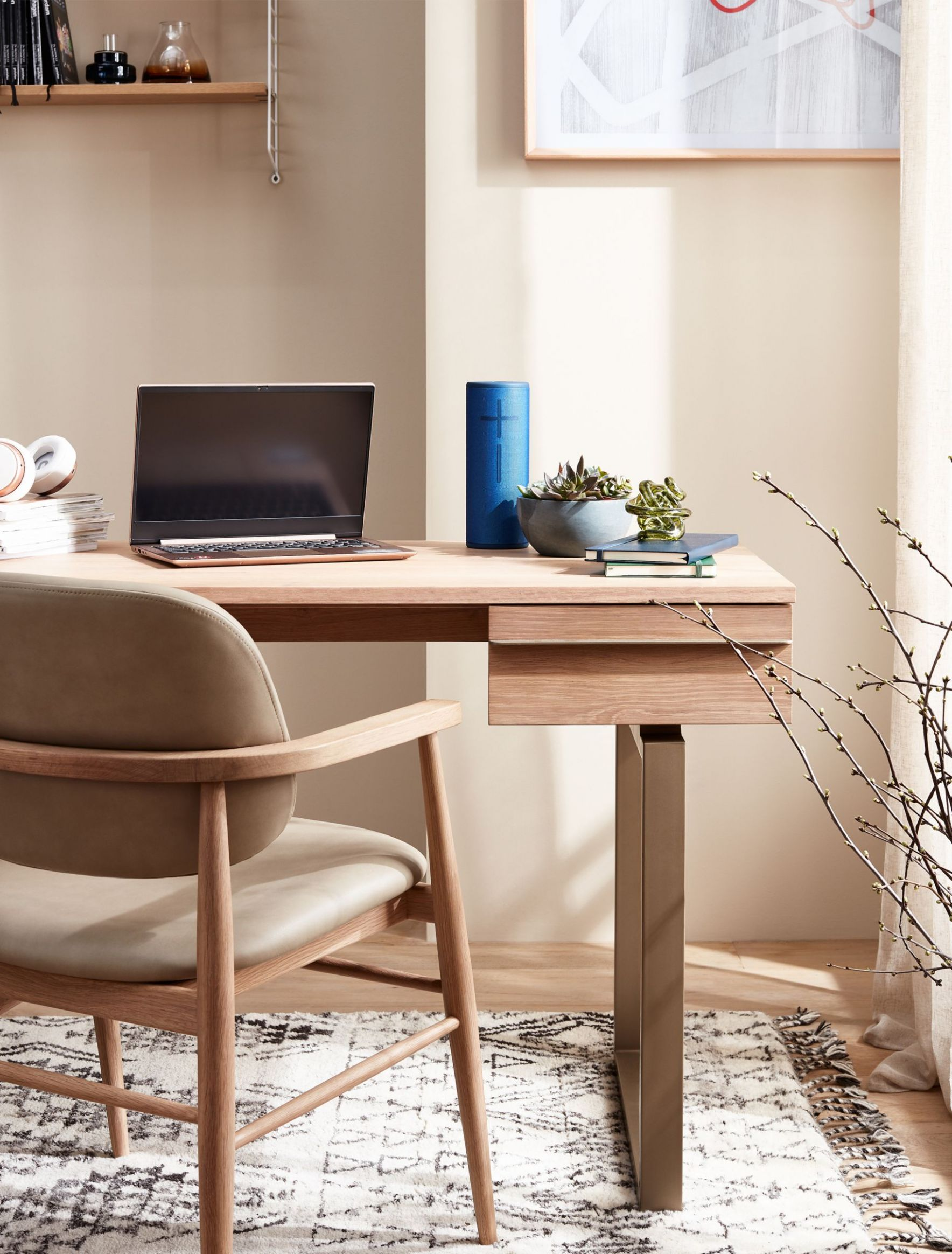 How to design a home office that is practical and stylish - john lewis home office ideas