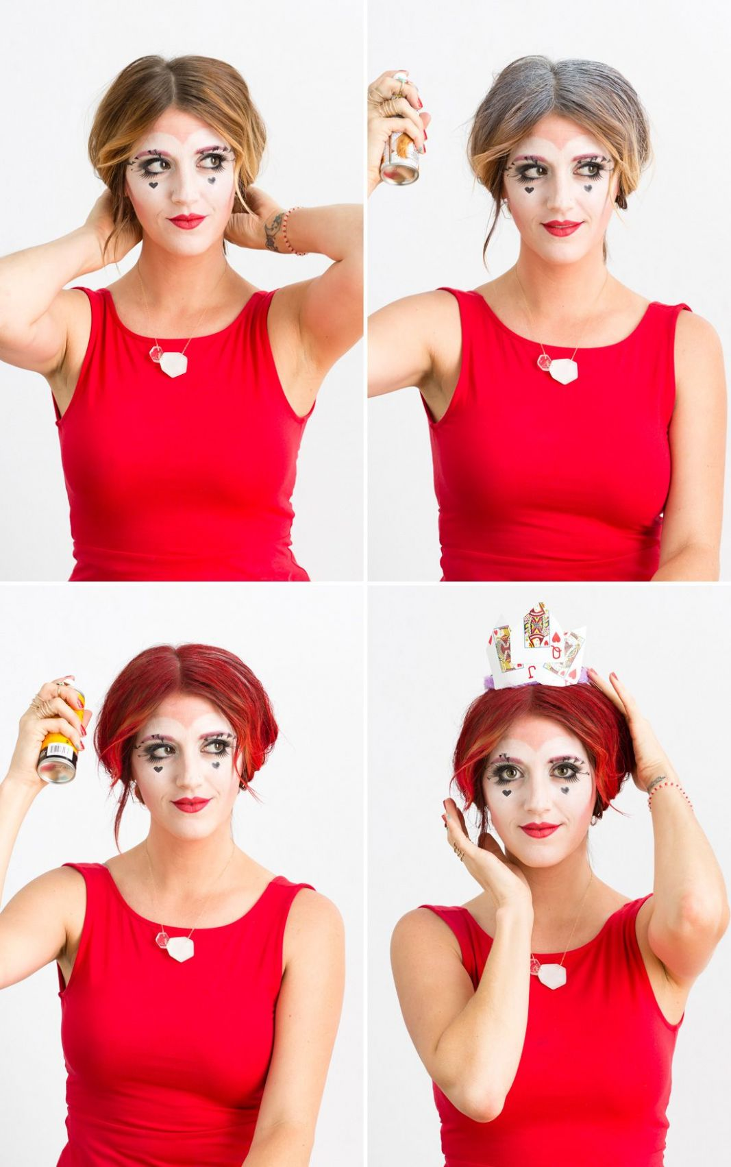 How to DIY a Queen of Hearts Costume Using Makeup You Already Own ...