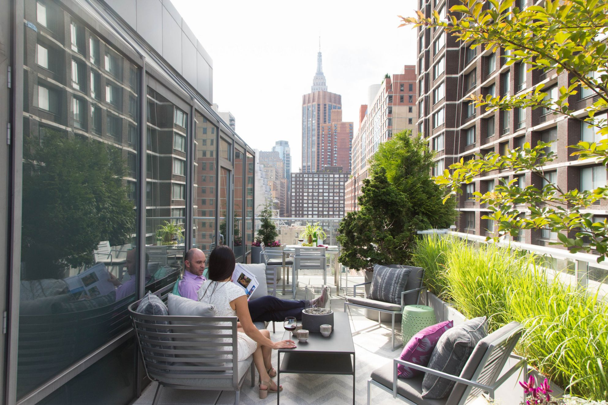 How to Furnish Your Terrace or Backyard - The New York Times