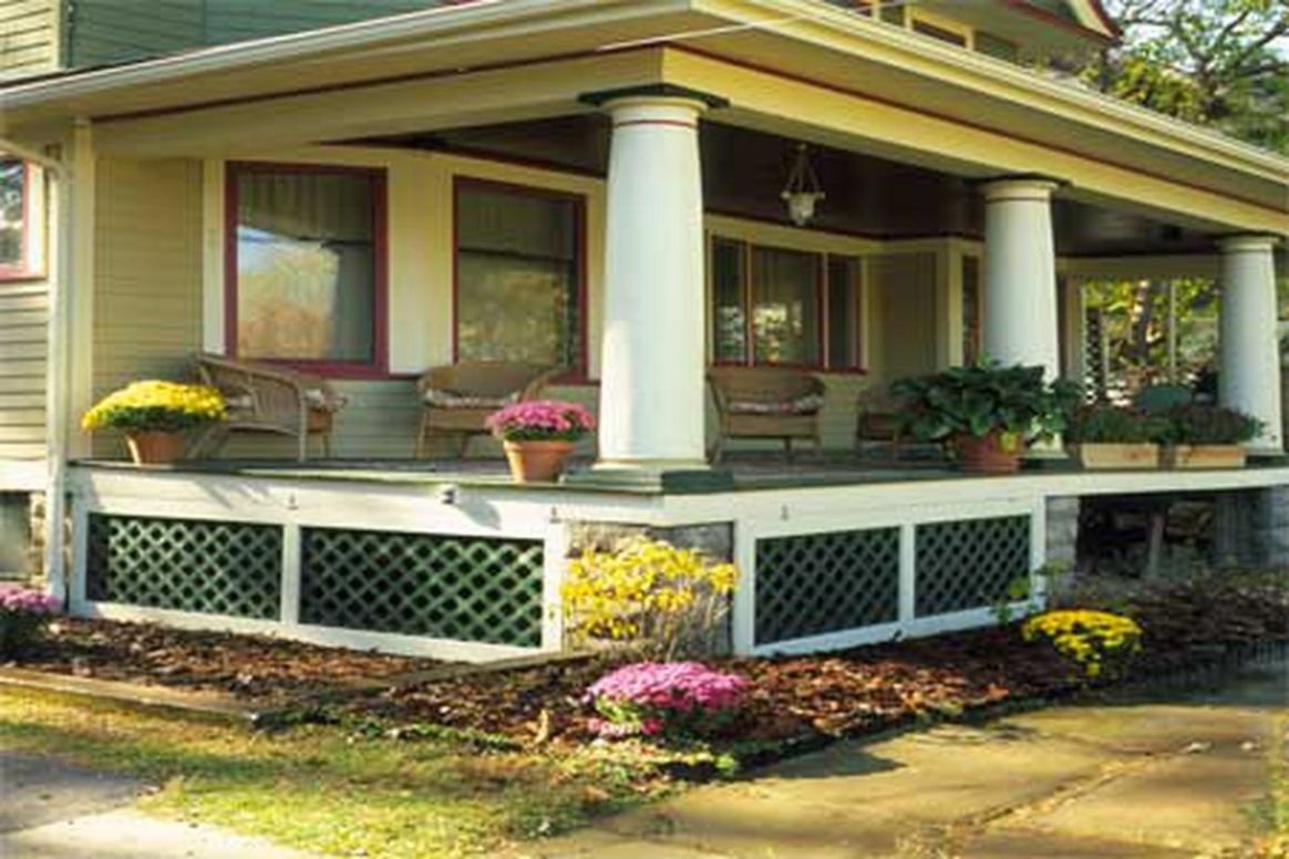 How to Install Porch Lattice - This Old House
