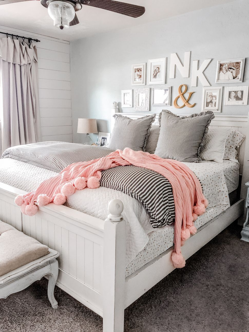 How to Layer a Coverlet Like a Boss - Lolly Jane - master bedroom quilt ideas