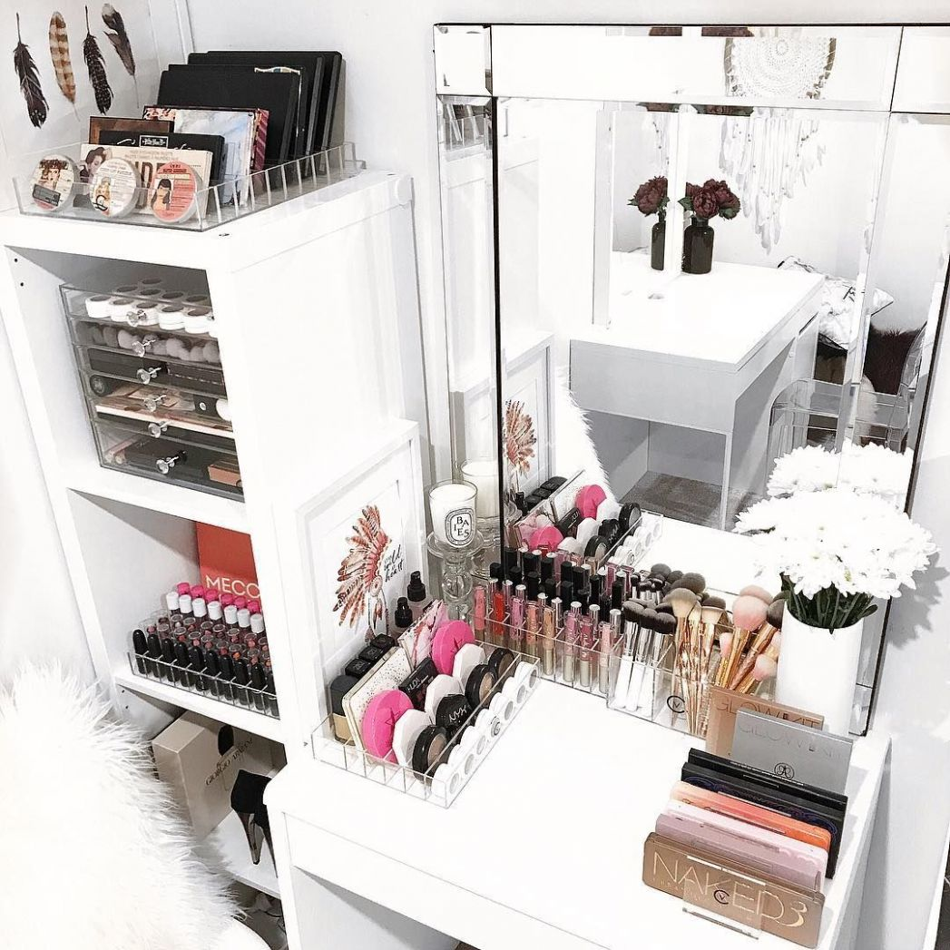 How To Organize & Display Makeup Product In Cool Ways | Beauty ..