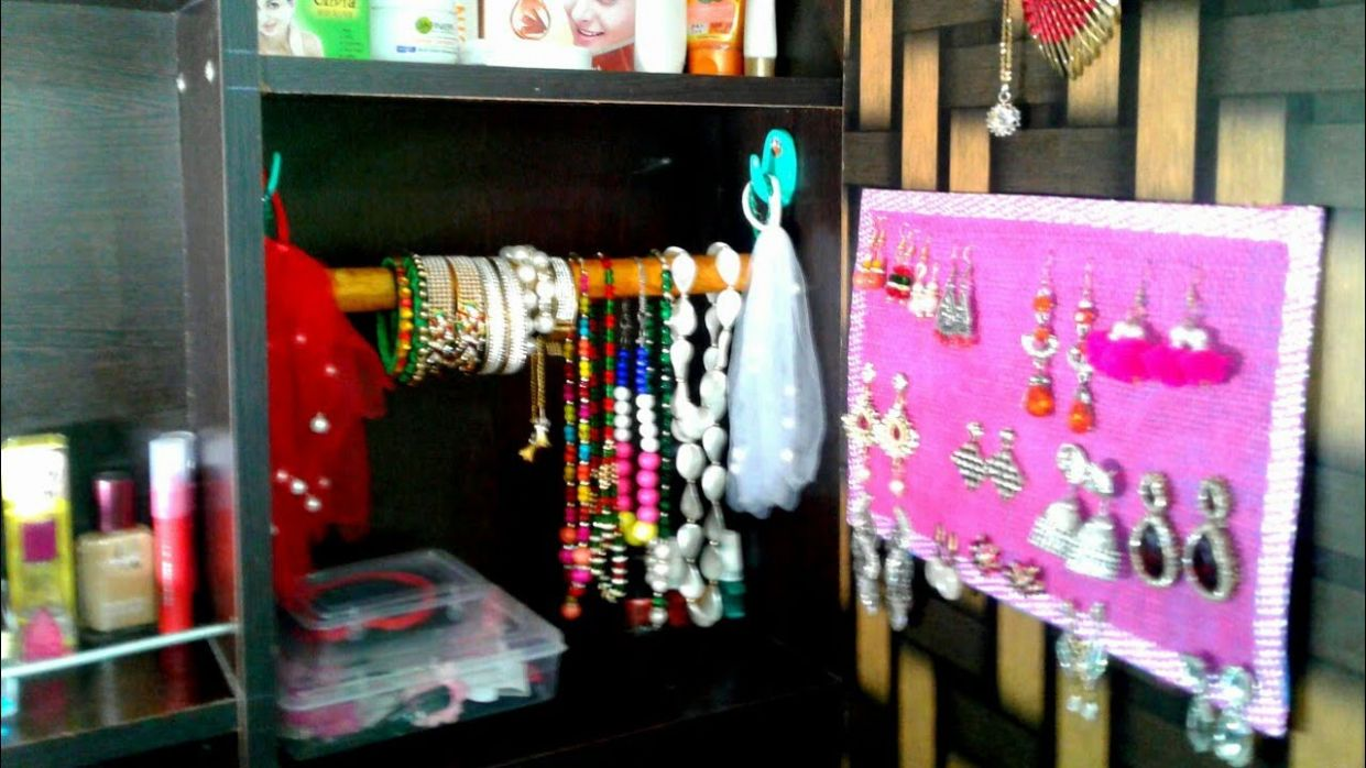 How to Organize Dressing Table and Make up / Diy Dressing Table Organizer /  Dressing Table Tour