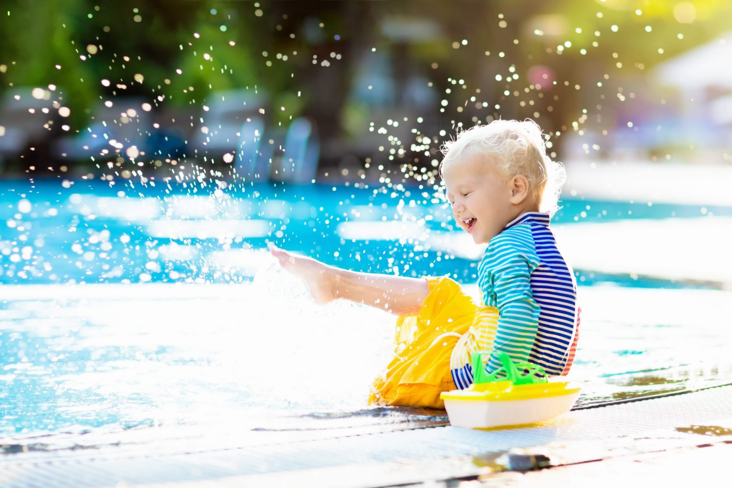 How to Throw a Summer Pool Party for Kids - pool kid ideas