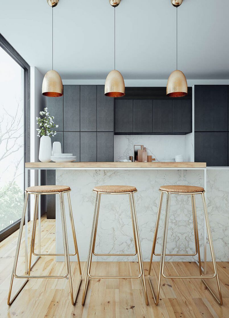 How to Zen Out in Your Kitchen + Get The Look - Emily Henderson - zen kitchen ideas