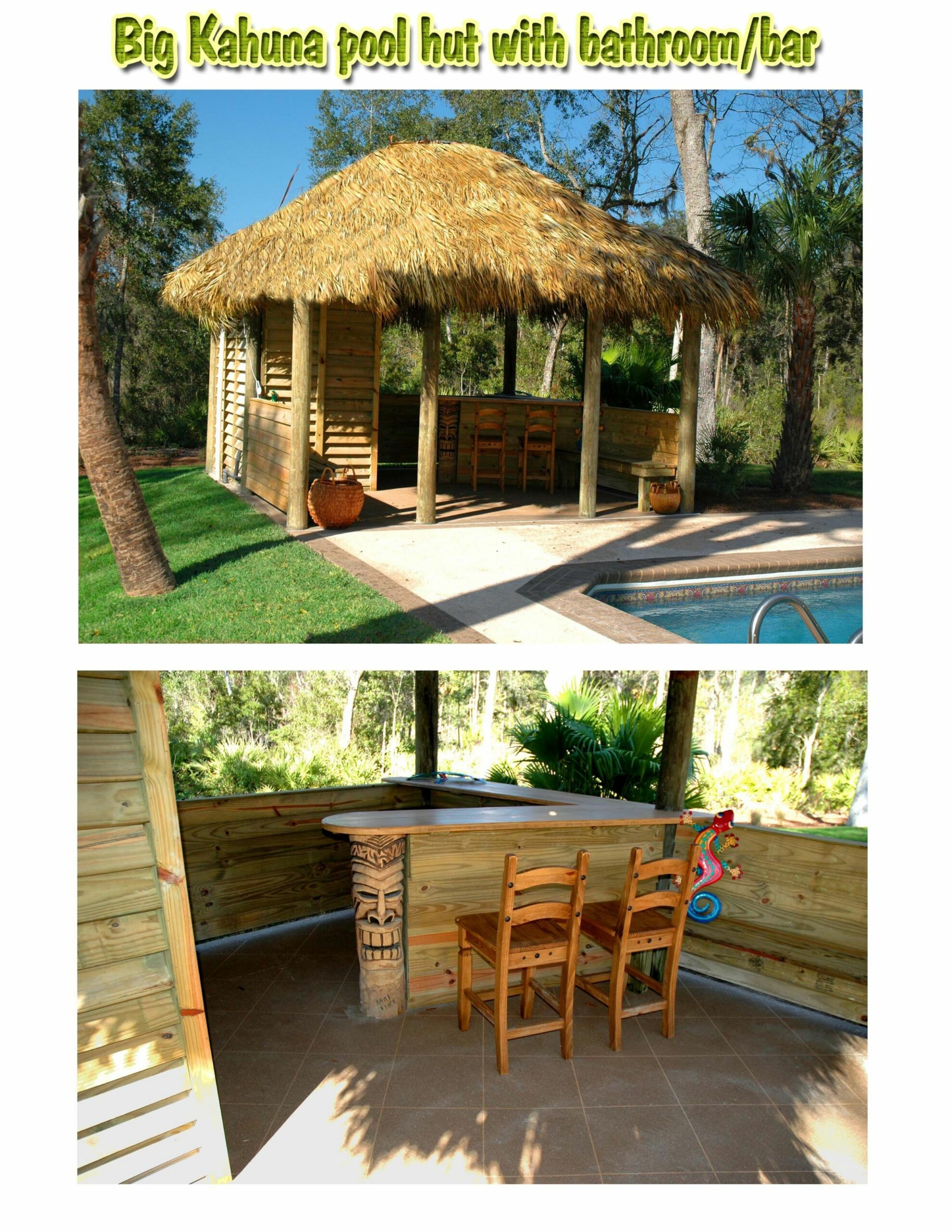 I really need a Tiki hut | Tiki hut, Backyard patio designs ..