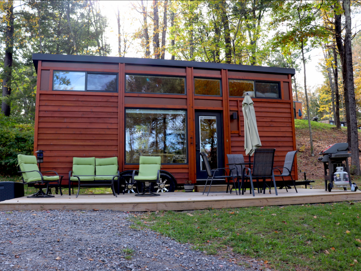 I stayed at a tiny house resort in the Catskills for three days ..