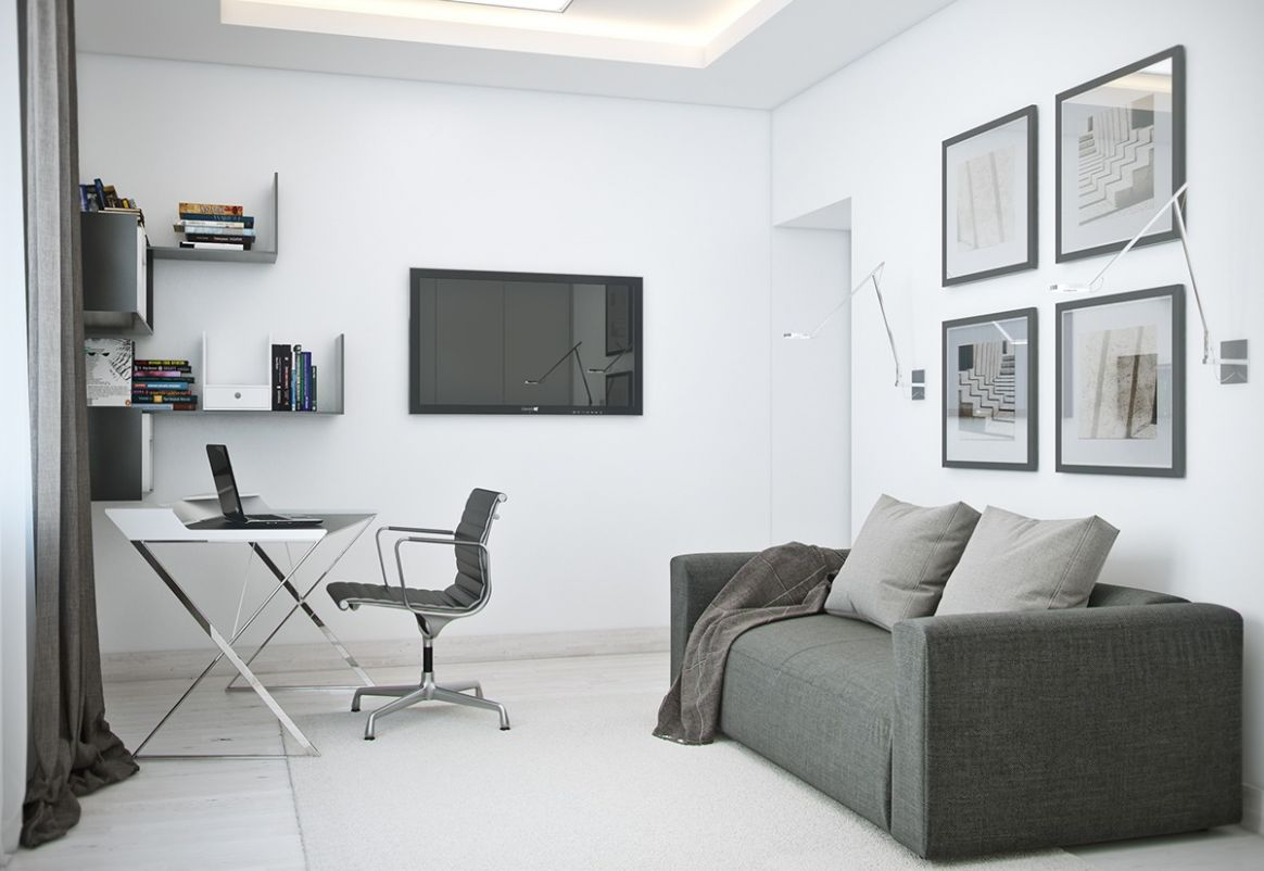 Ideas For A One Bedroom Apartment With Study Includes Floor Plans ..