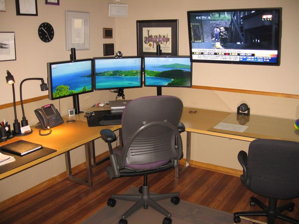 Ideas For Home Office #11 | インテリア, 防音室, ホームオフィス - home office ideas for basement
