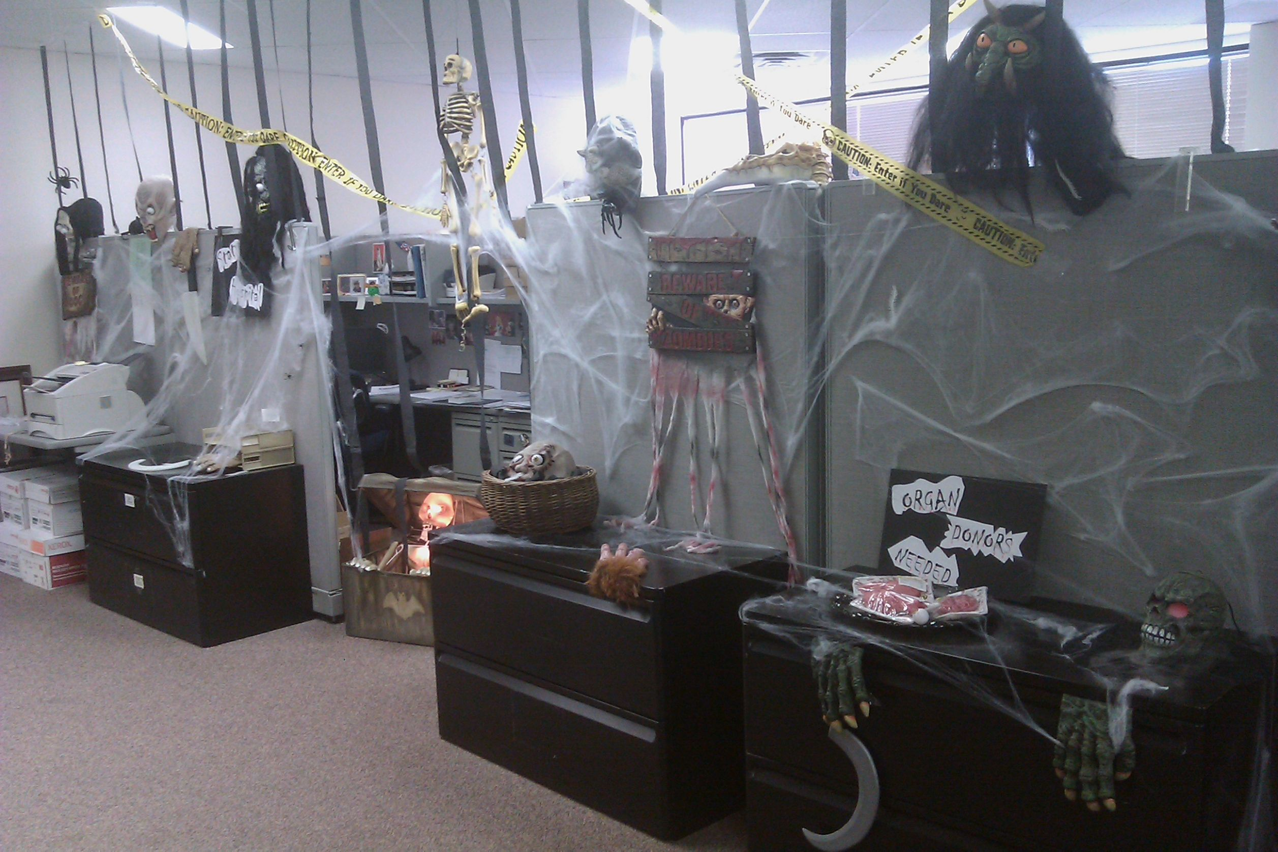 Ideas Office Decoration Themes Halloween Decorations Coriver Homes ..