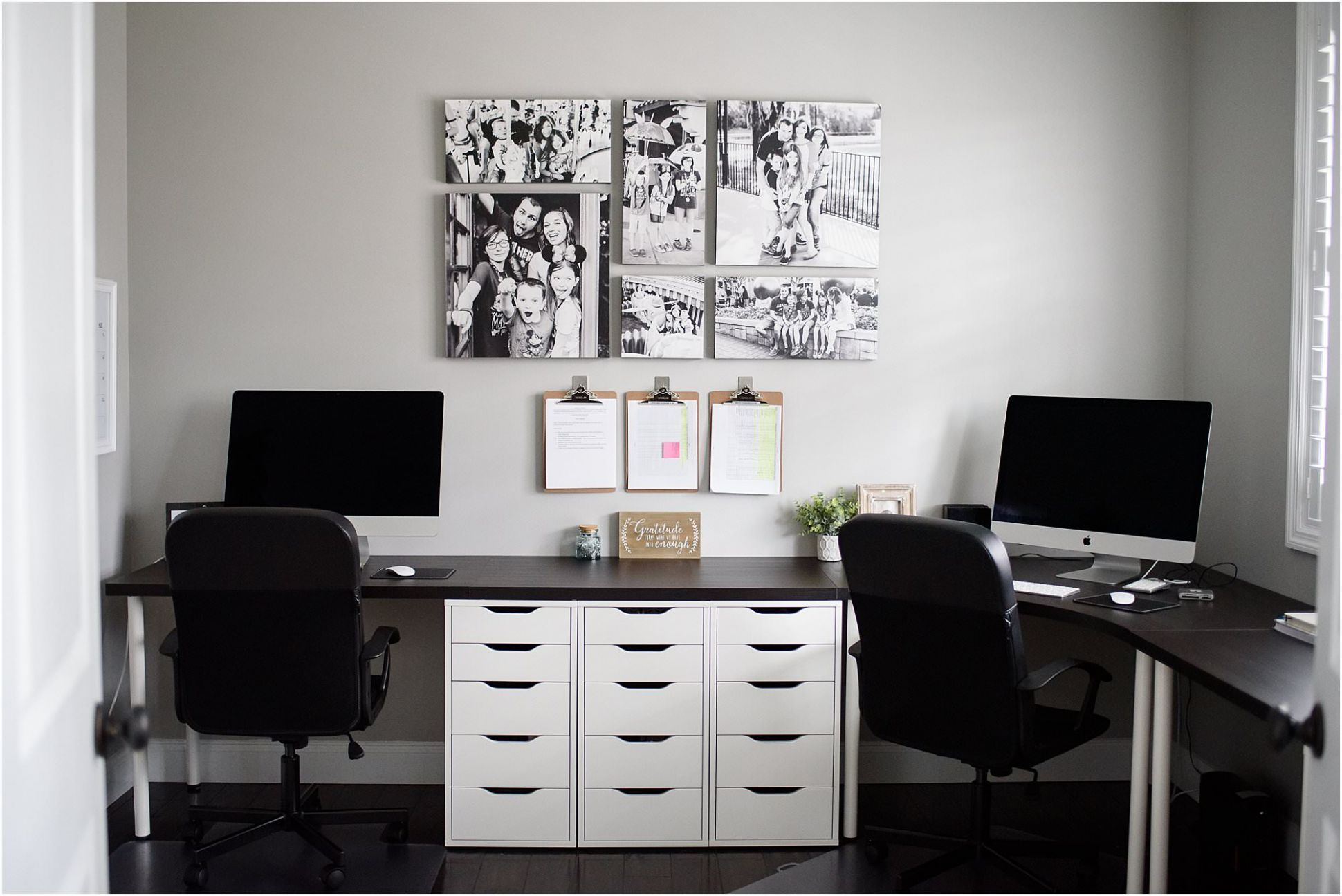 Ikea Home Office Ideas For Two