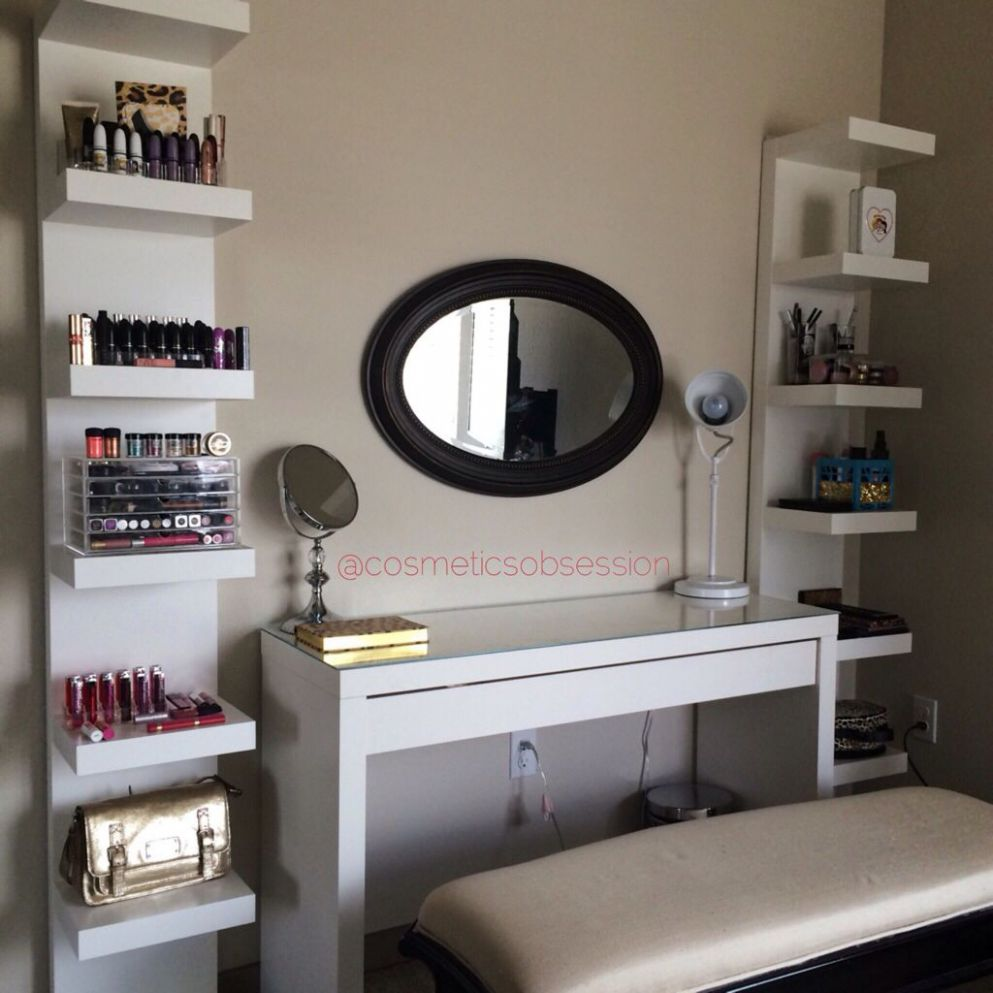 IKEA malm dressing table and lack shelf units great must haves for ..