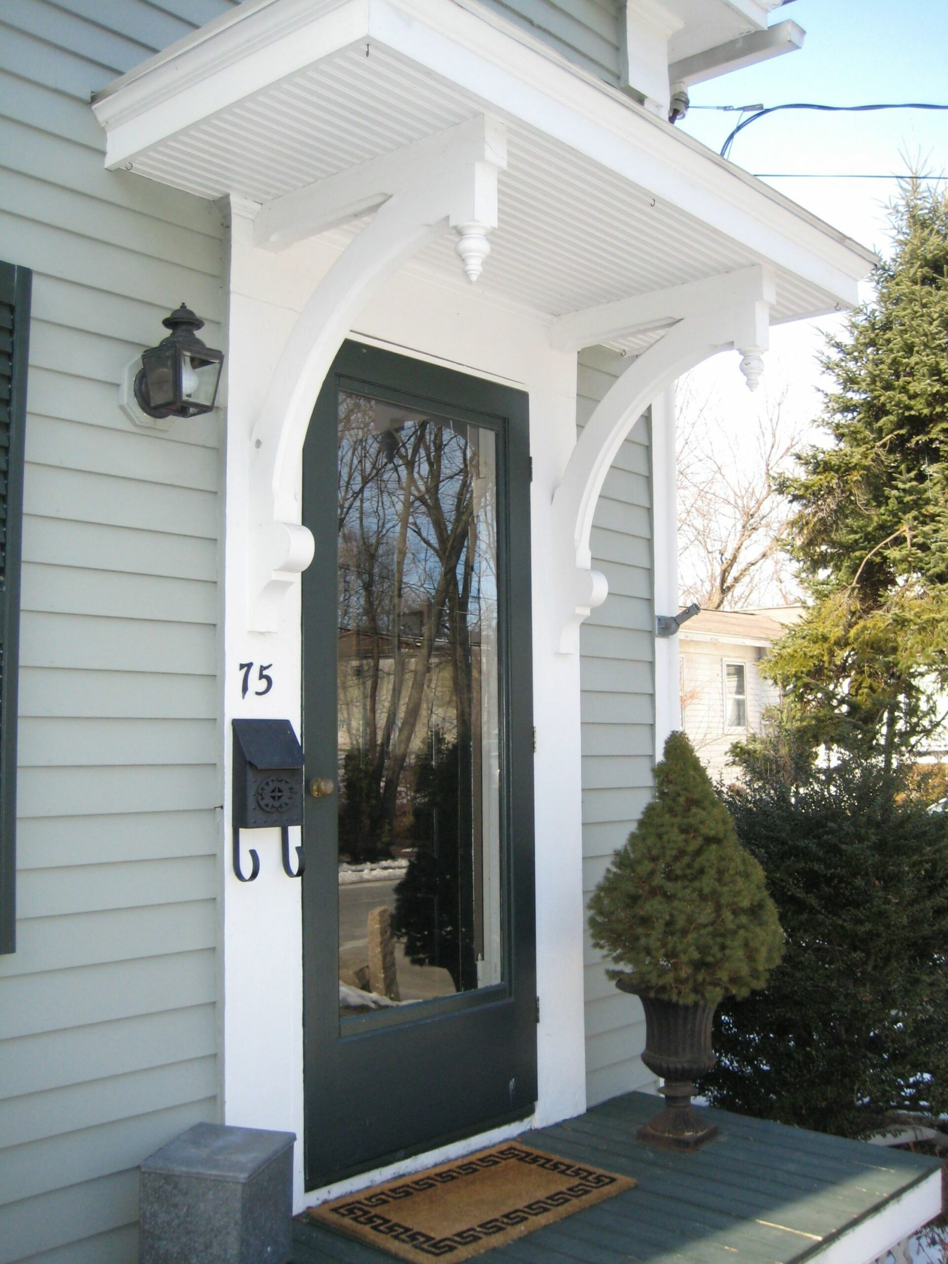 Image Gallery (With images) | House exterior, Front door awning ..
