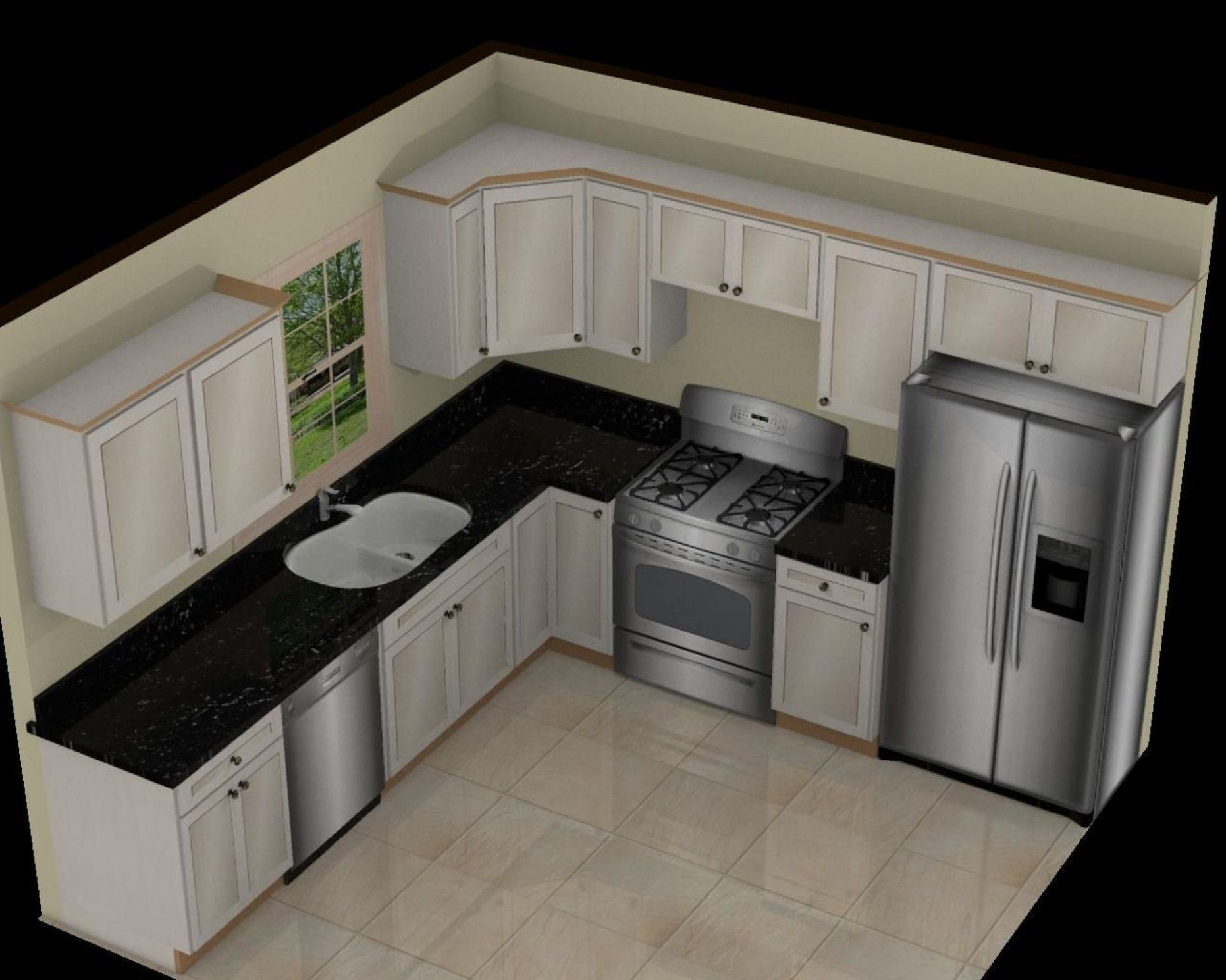 Image result for 12 x 12 kitchen design layouts (With images ..