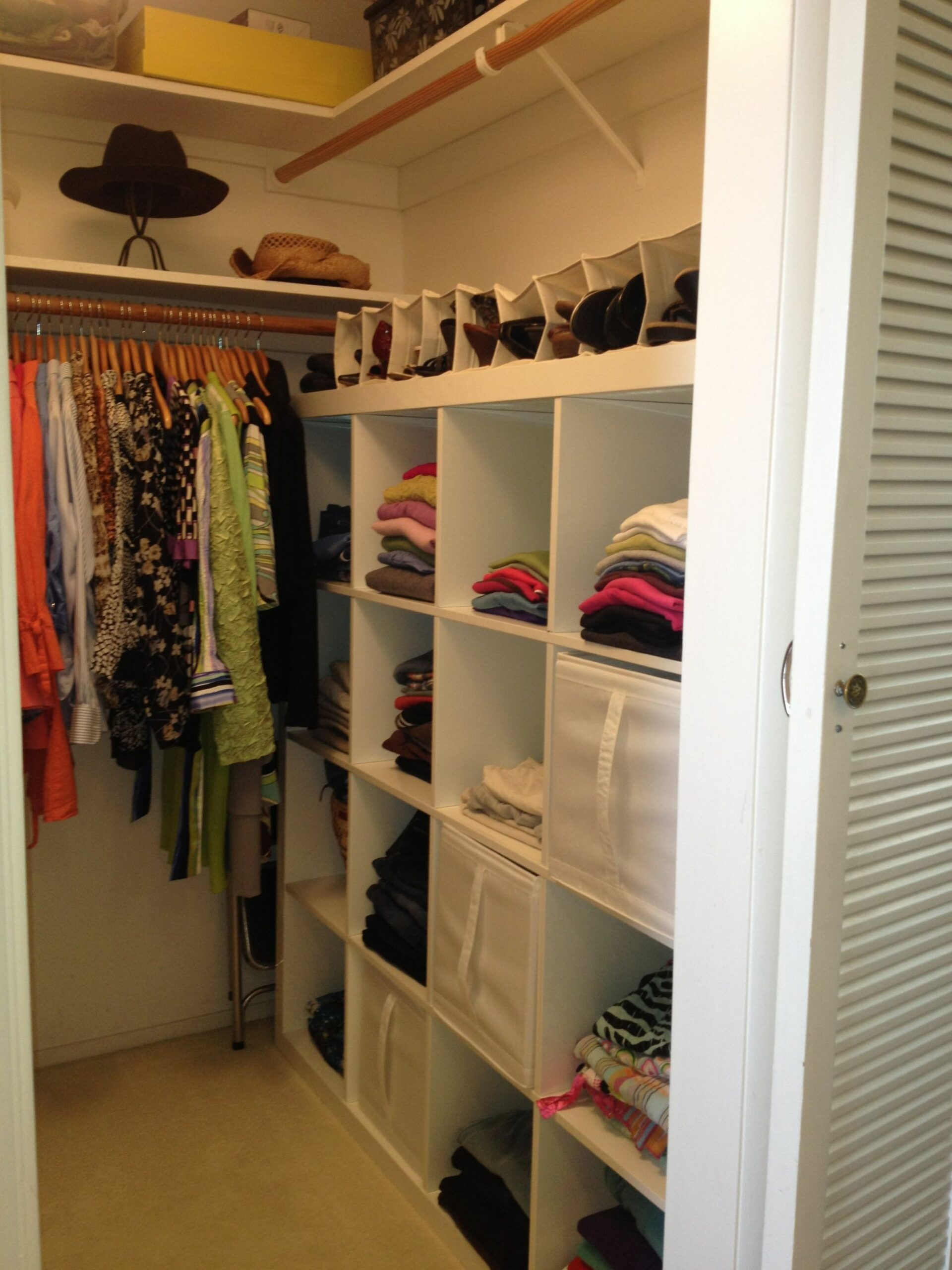 Image Result For Images Of Small Walk In Closet Organizers ..